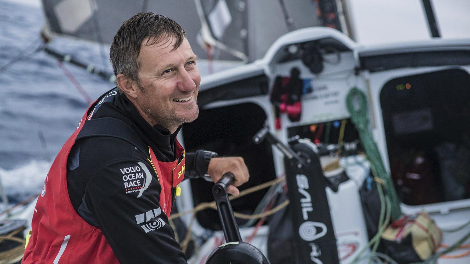 Yachtsman John Fisher is feared dead after falling overboard in a round-the-world race