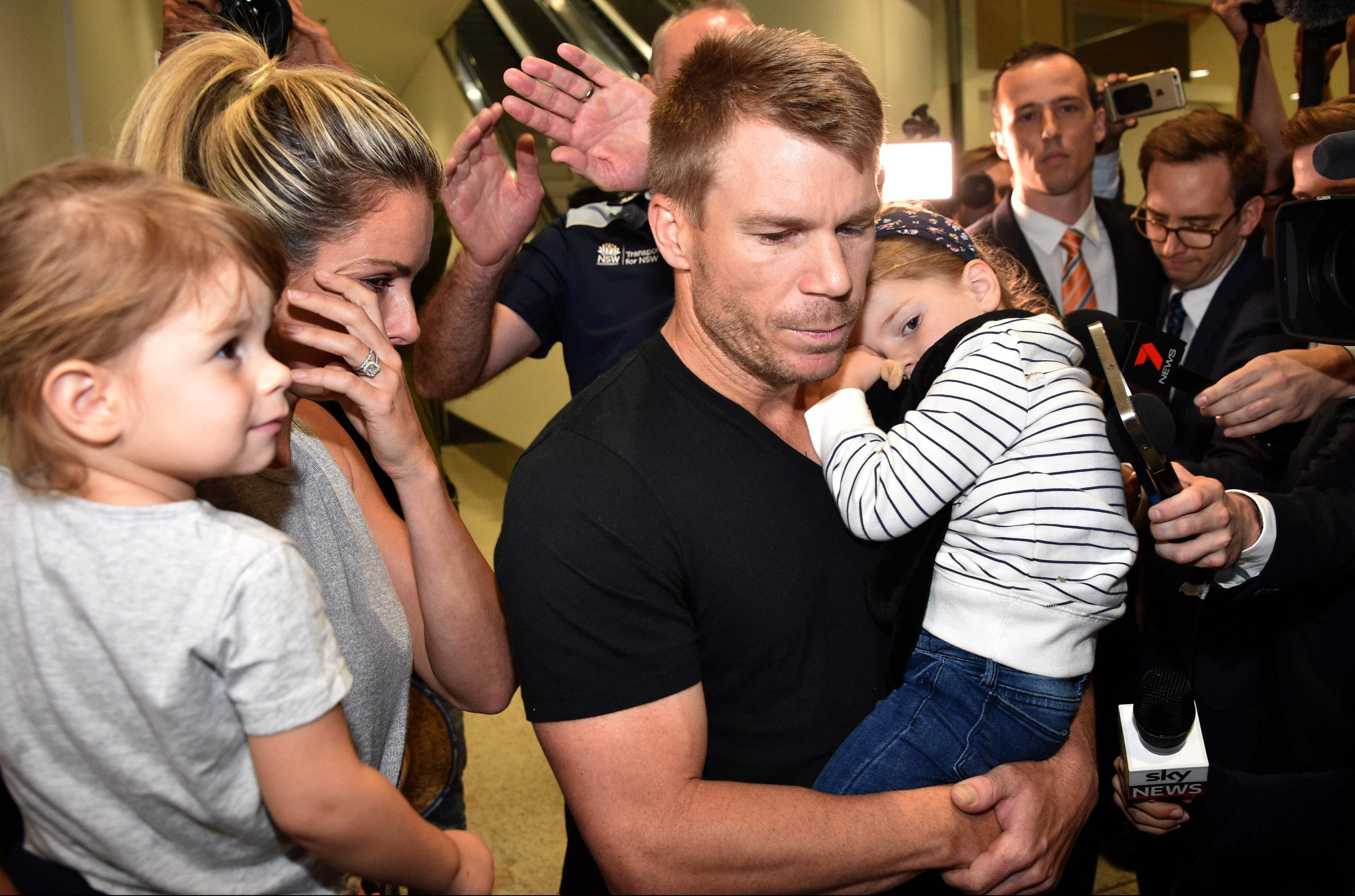 David Warner is set to face the media on Saturday