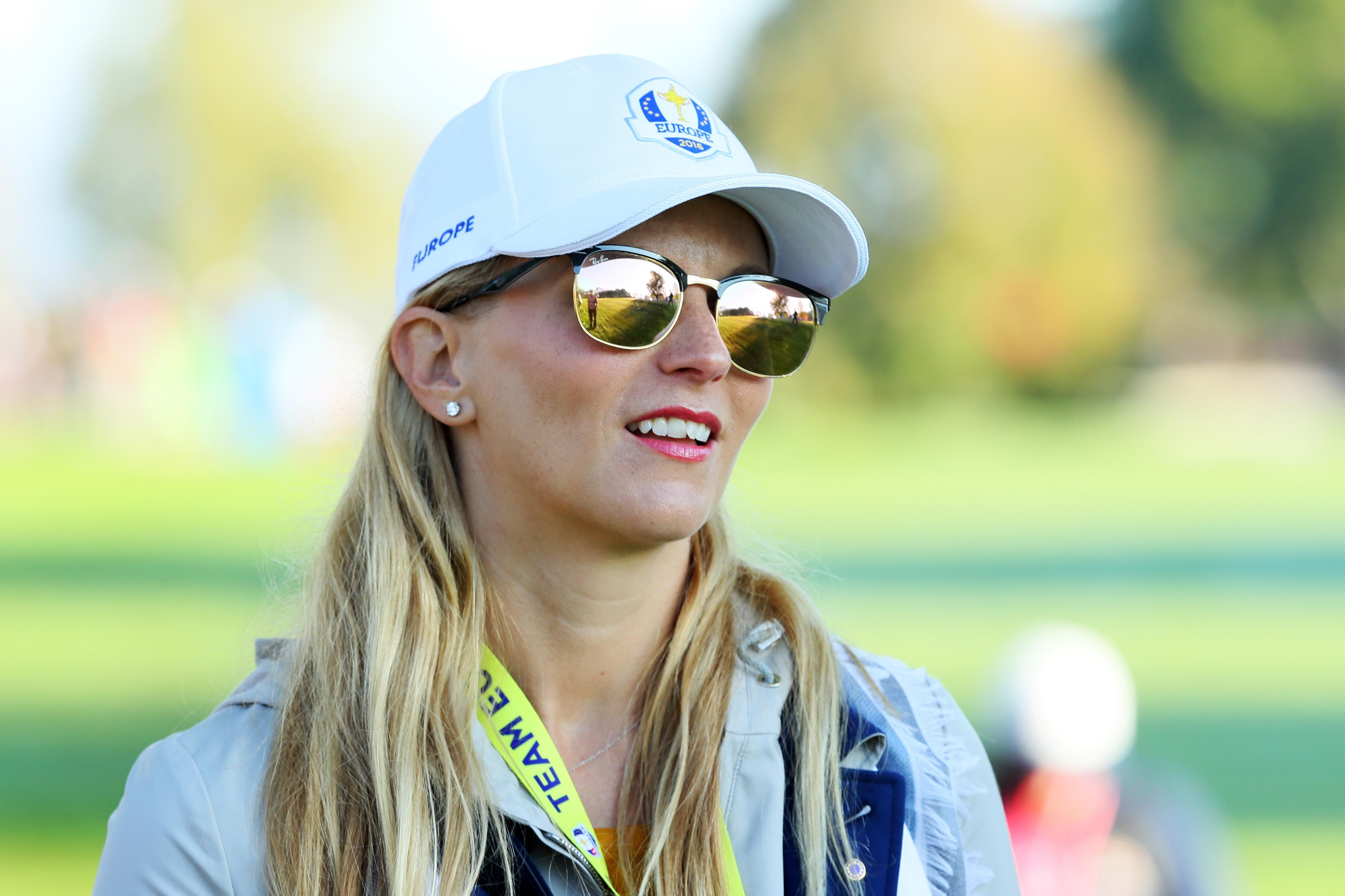 Rose is a regular out on the course and follows Justin to major championships