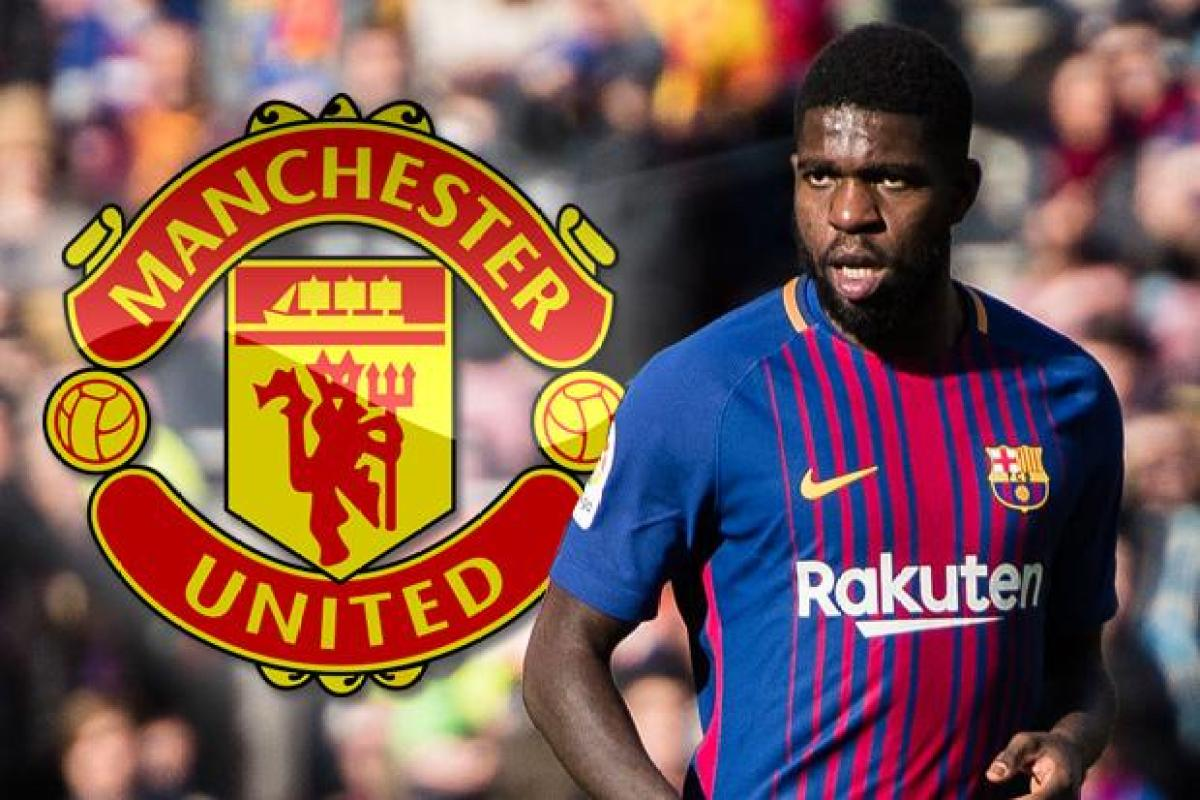 Image result for umtiti to Man United