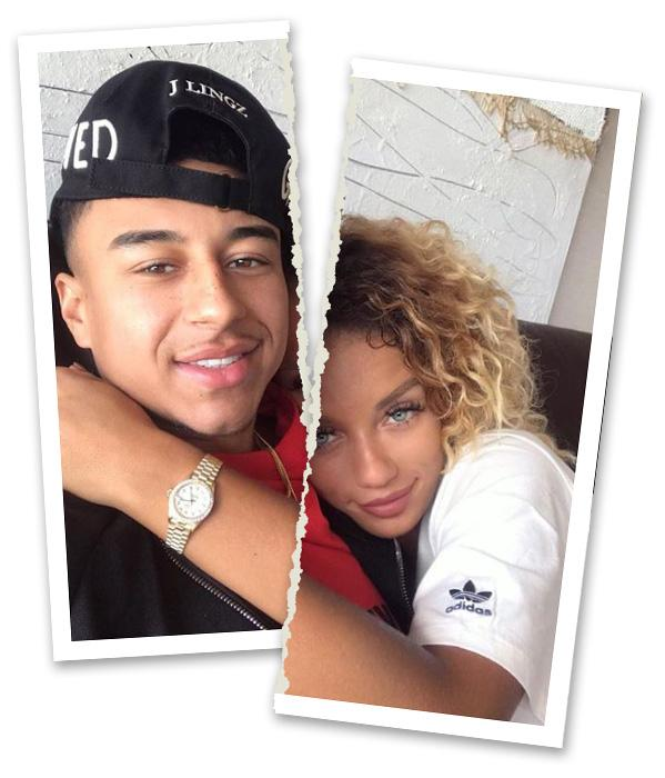 Jena Frumes has dumped two-timing Jesse Lingard three months after we revealed his fling with a fan
