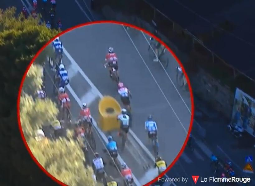 This is the horrifying moment Mark Cavendish crashed
