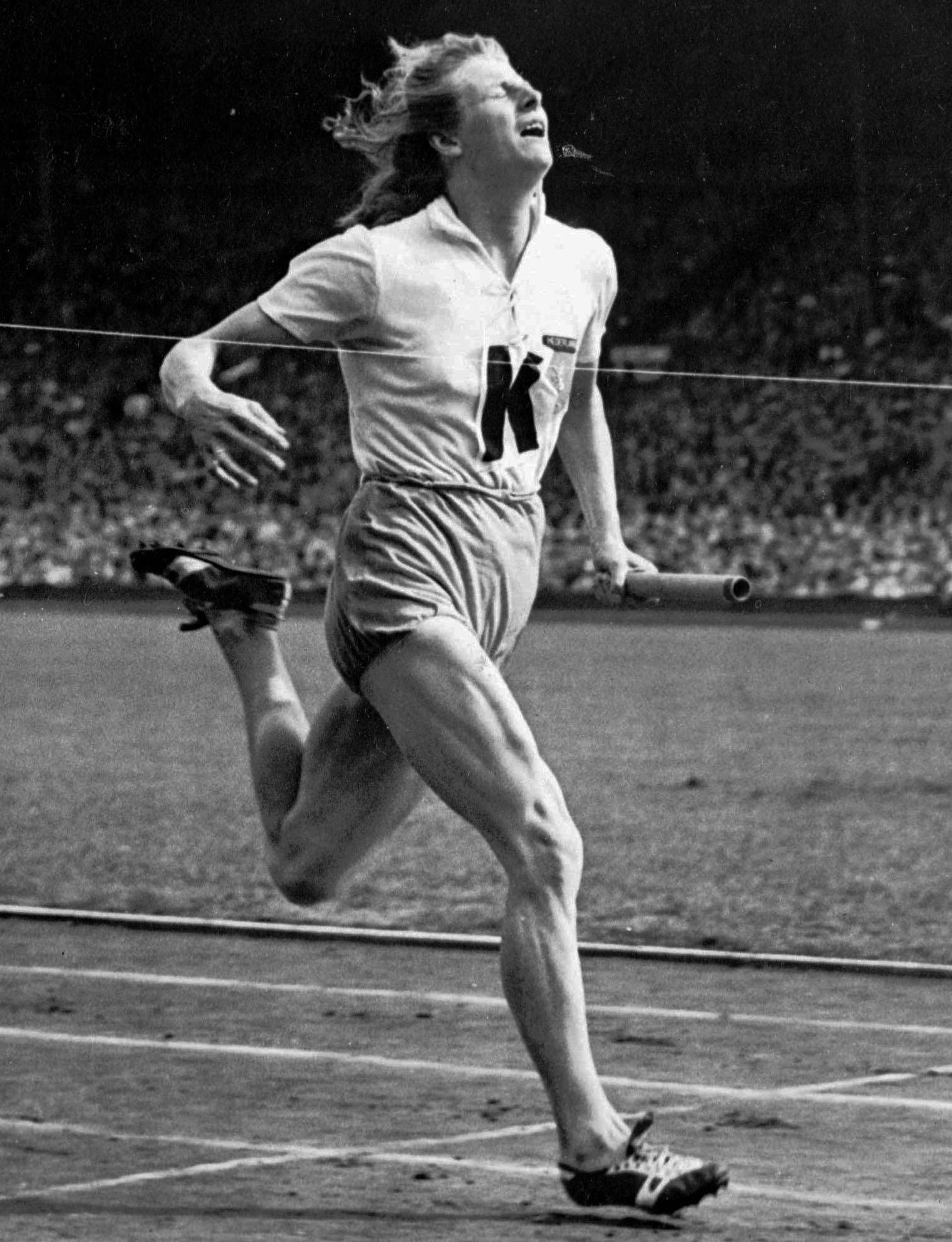 Blankers-Koen defied critics to make history in the 1948 London Olympics
