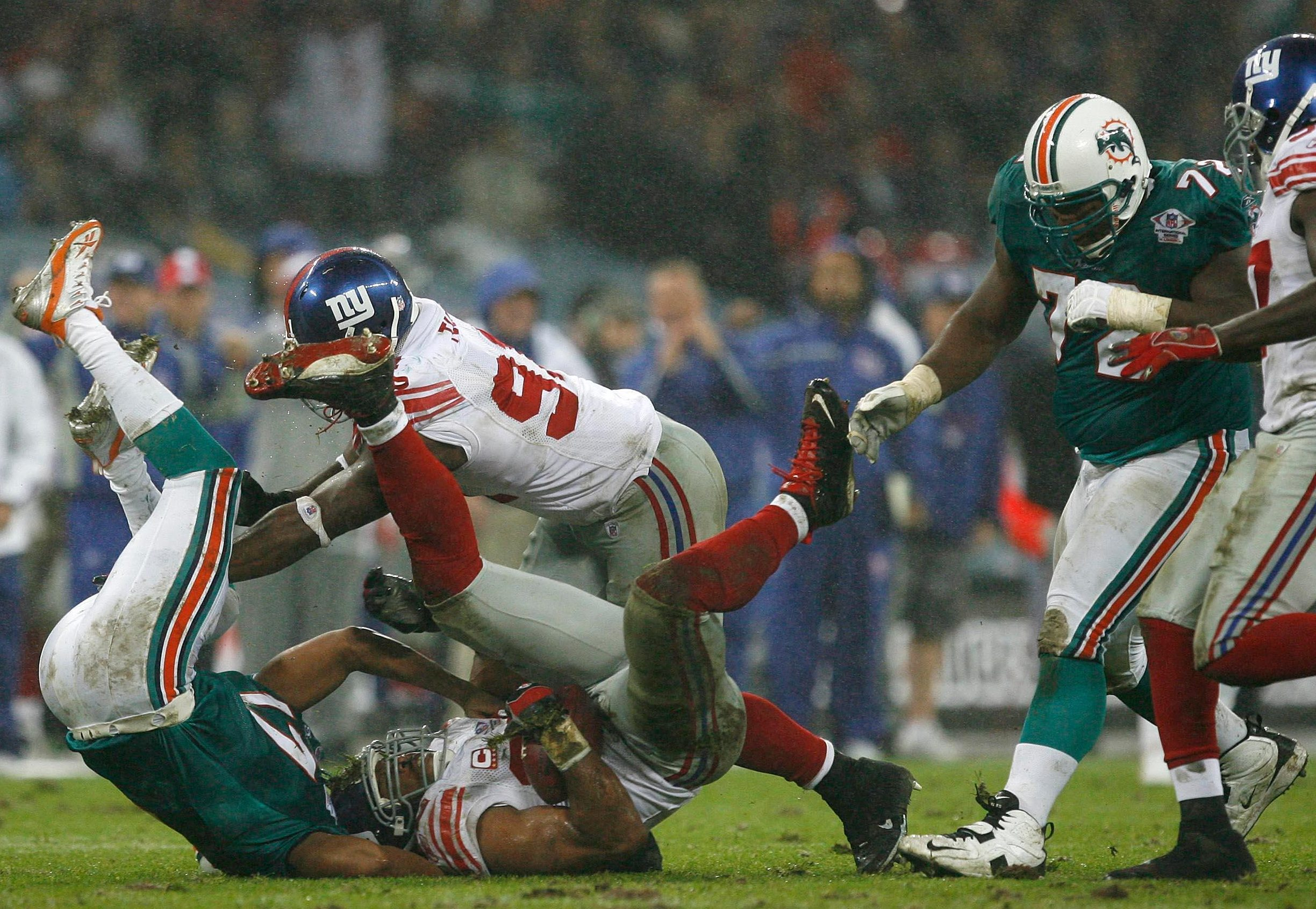 In 2007 the Miami Dolphins beat the New York Giants in the first International Series game at Wembley