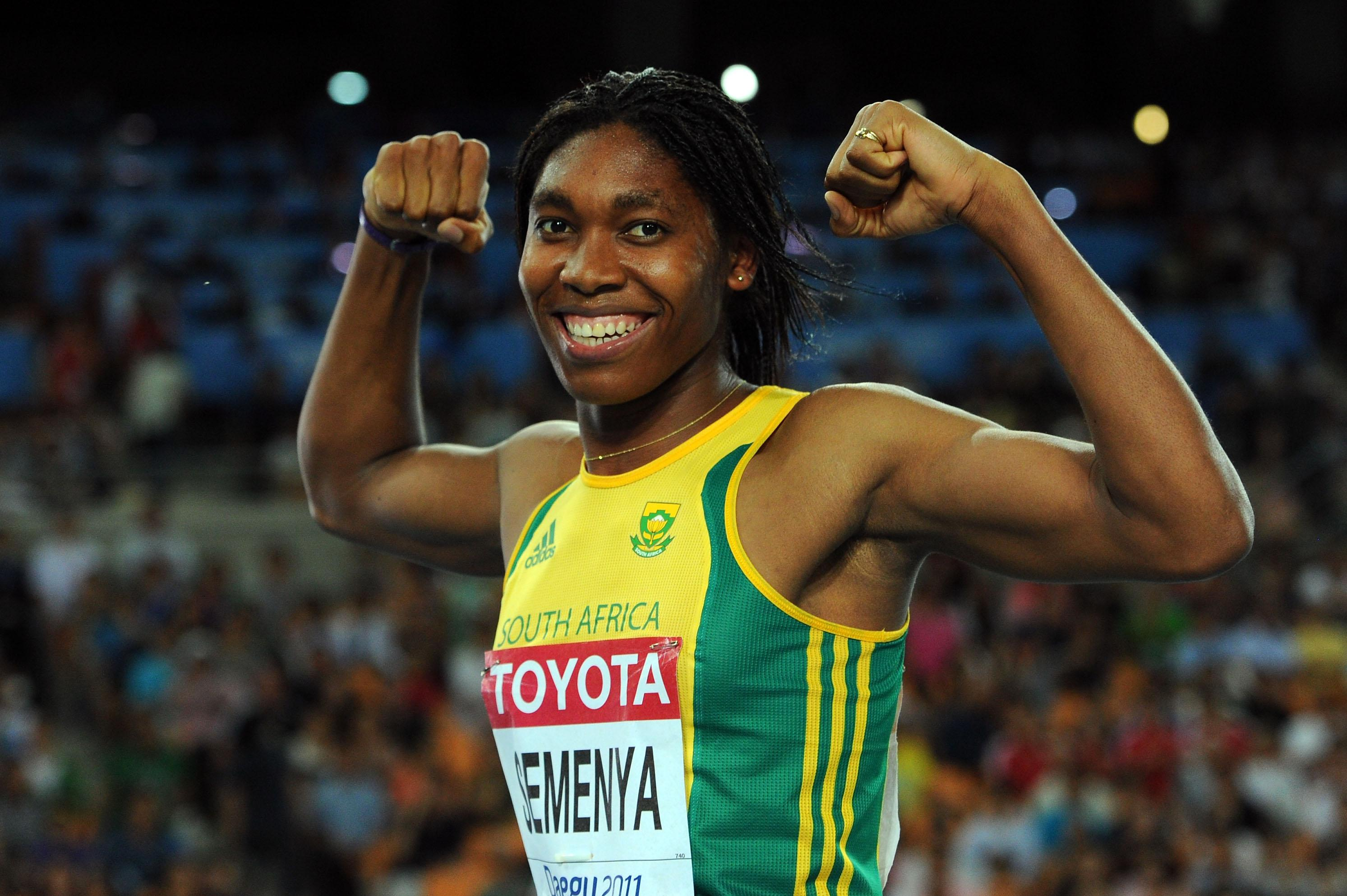 Semenya has been forced to endure the humiliation of gender testing after making such a huge impact in athletics