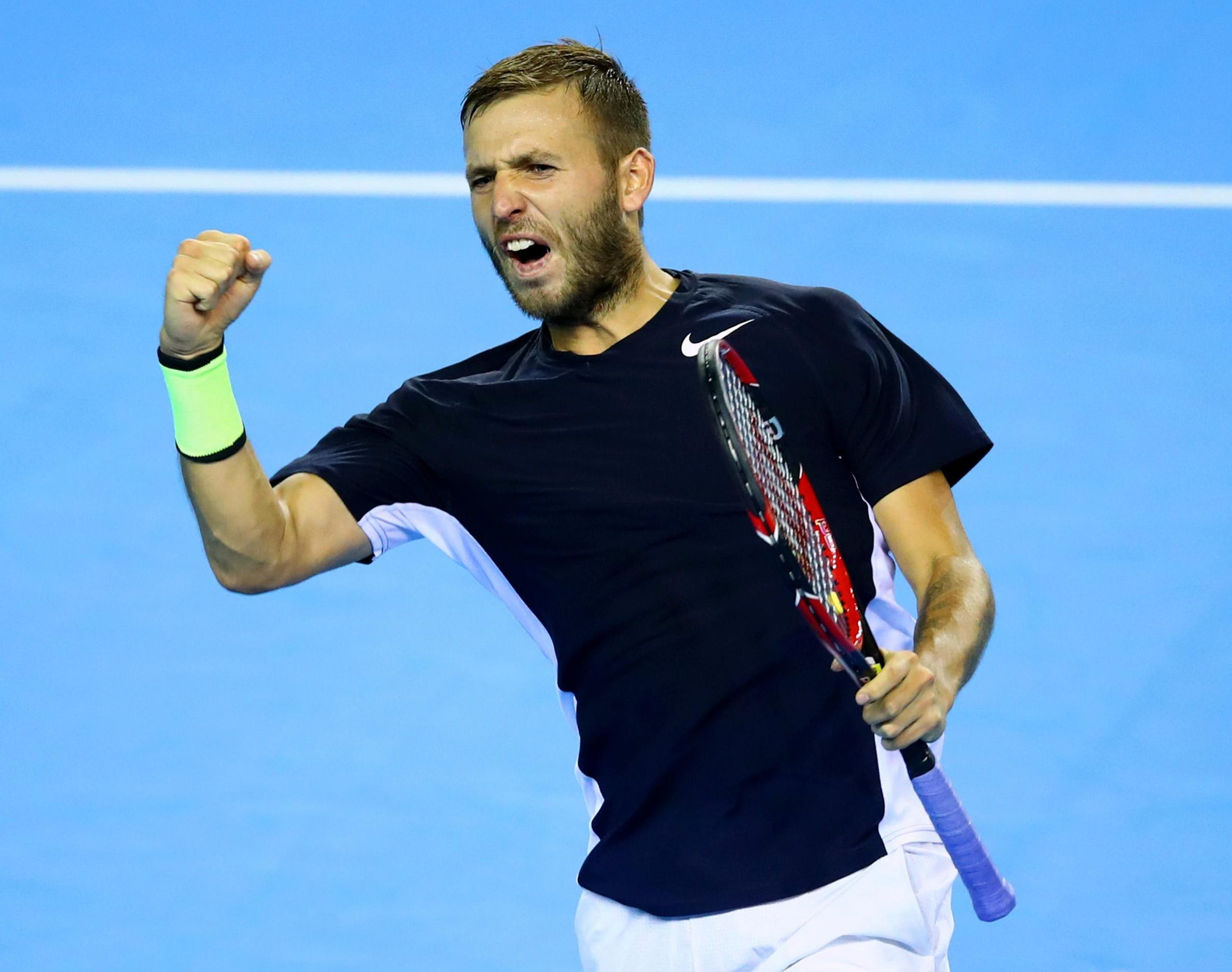 Dan Evans has vowed never to touch cocaine again