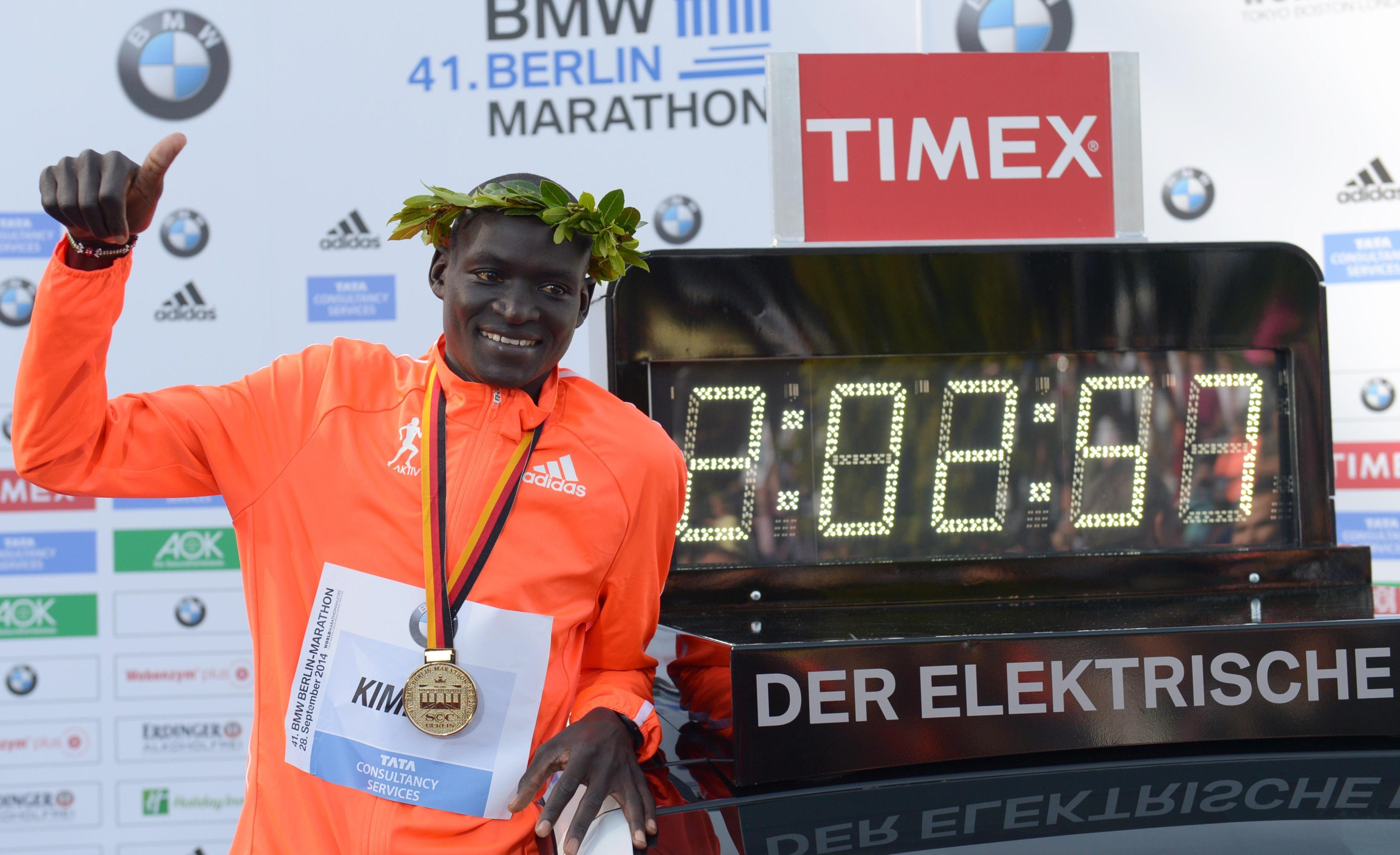 Dennis Kimetto became the men's world record holder in Berlin in 2014