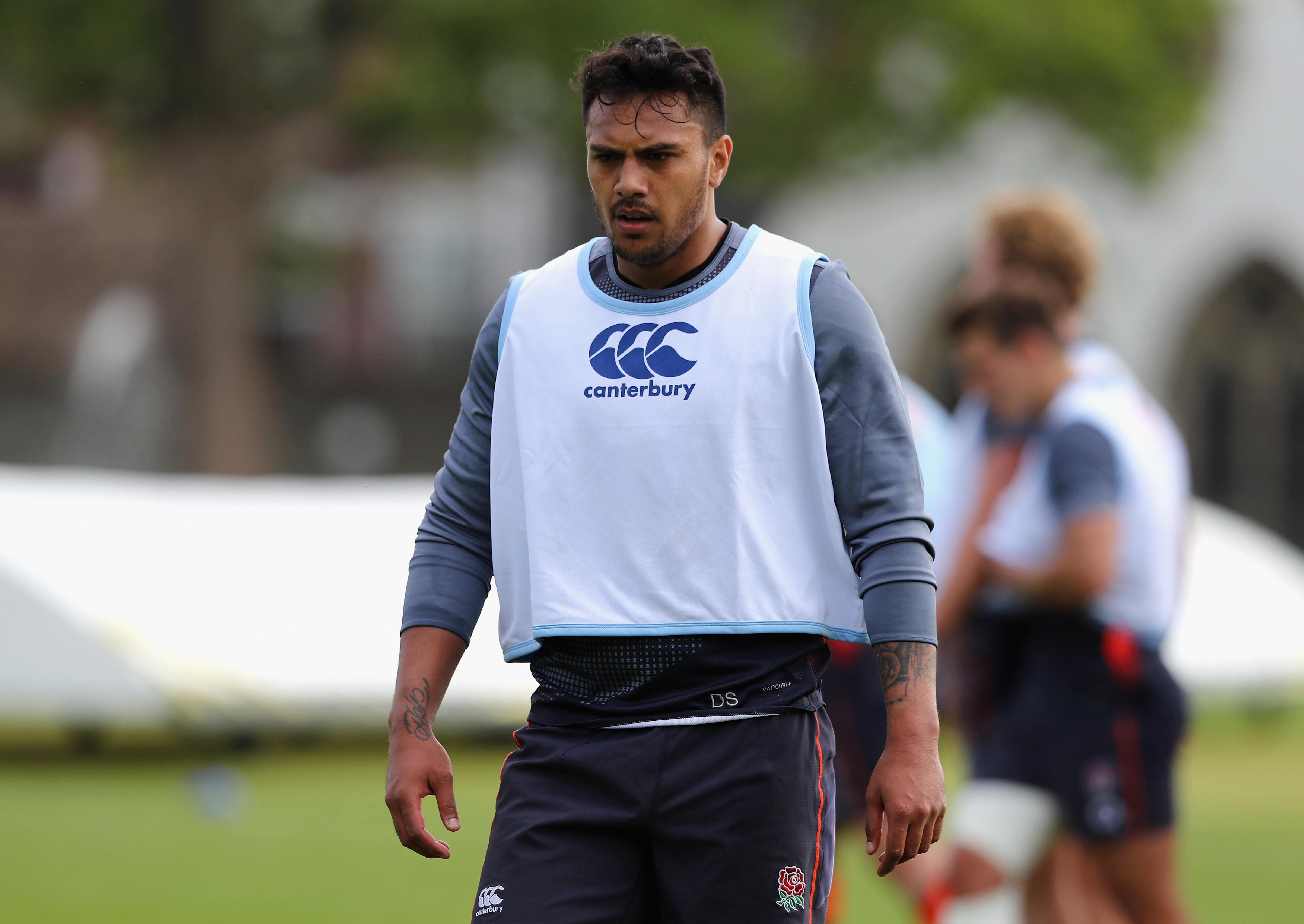 Denny Solomona's England career is in huge doubt after his ban