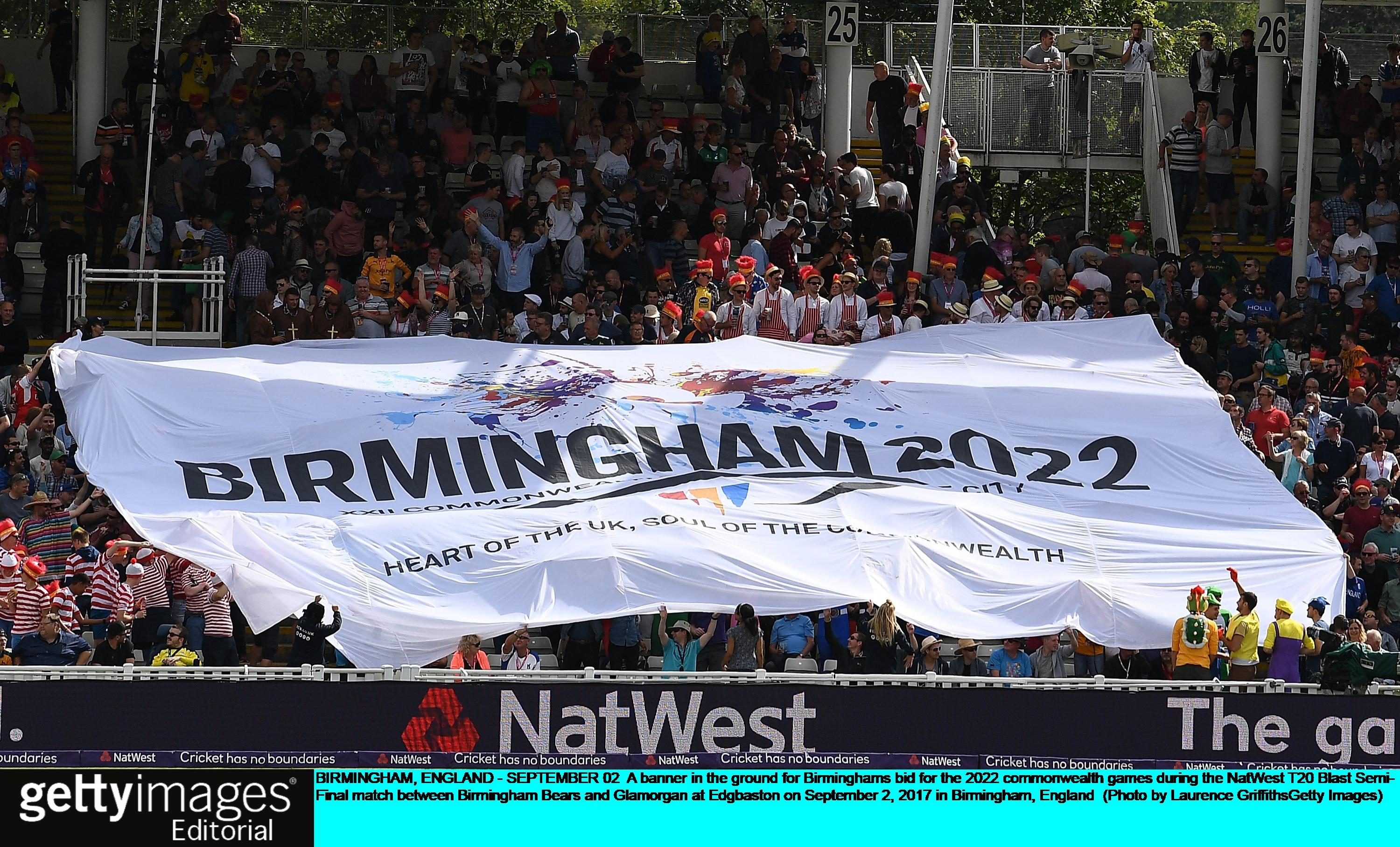 Birmingham will host the 2022 Commonwealth Games