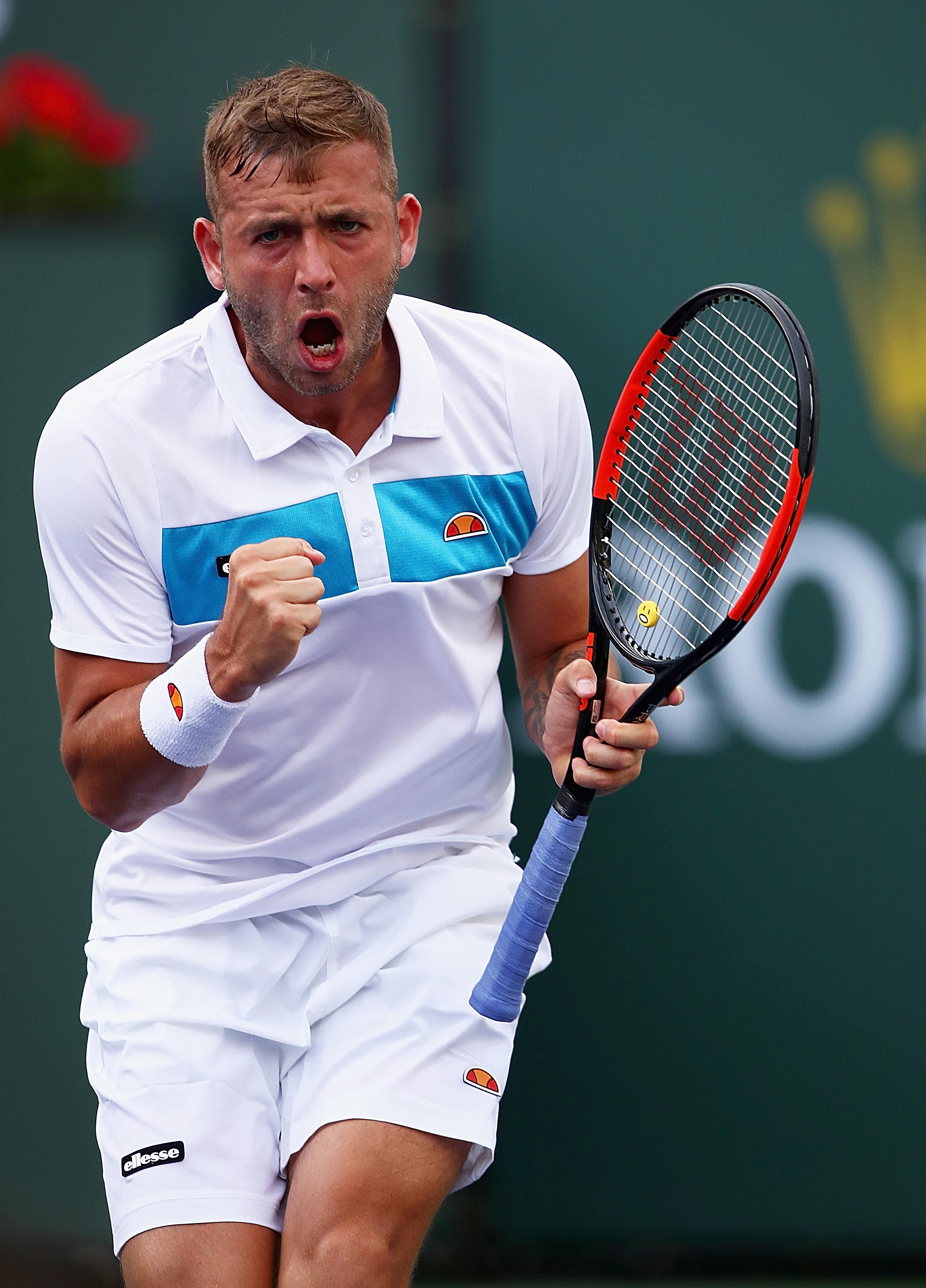 Dan Evans is set to make his return to tennis after a one-year drugs ban