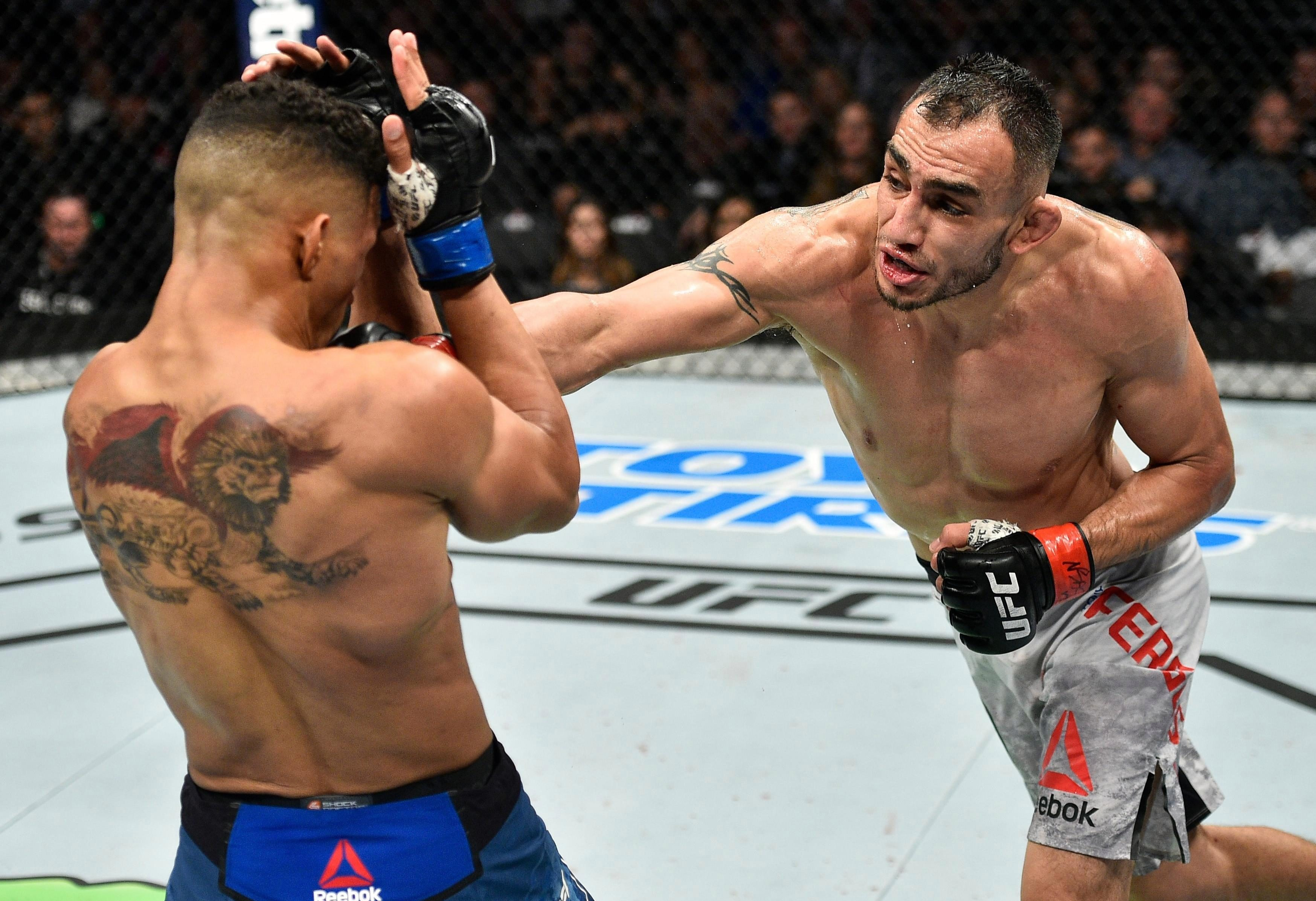 Tony Ferguson is out of UFC 223 after an accident in a TV studio