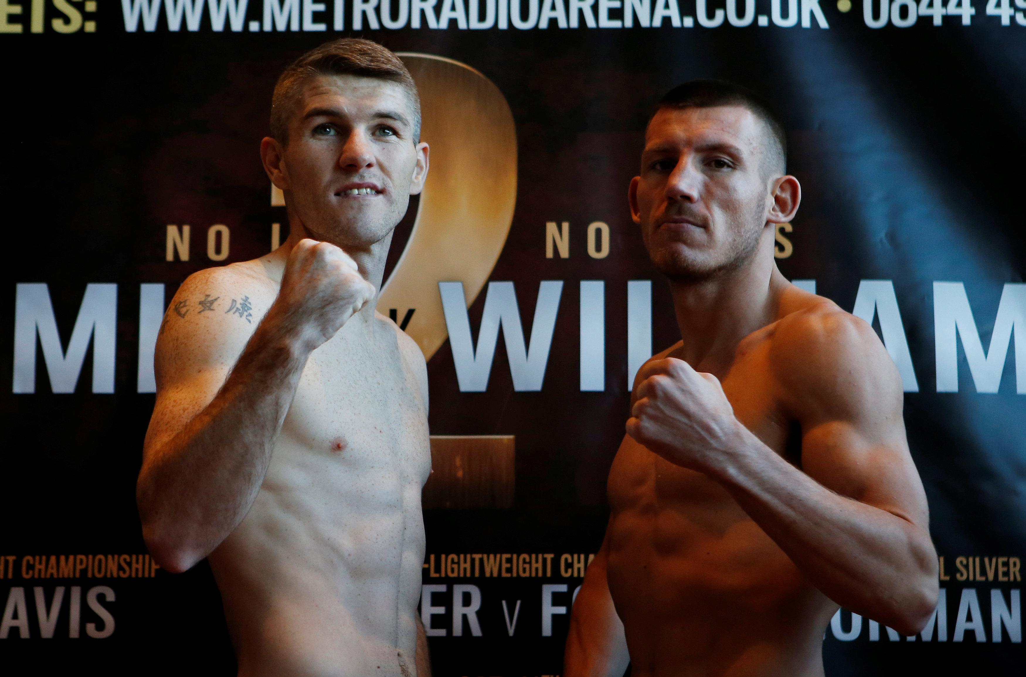 Liam Smith was given a shot at the WBO title after beating Liam Williams