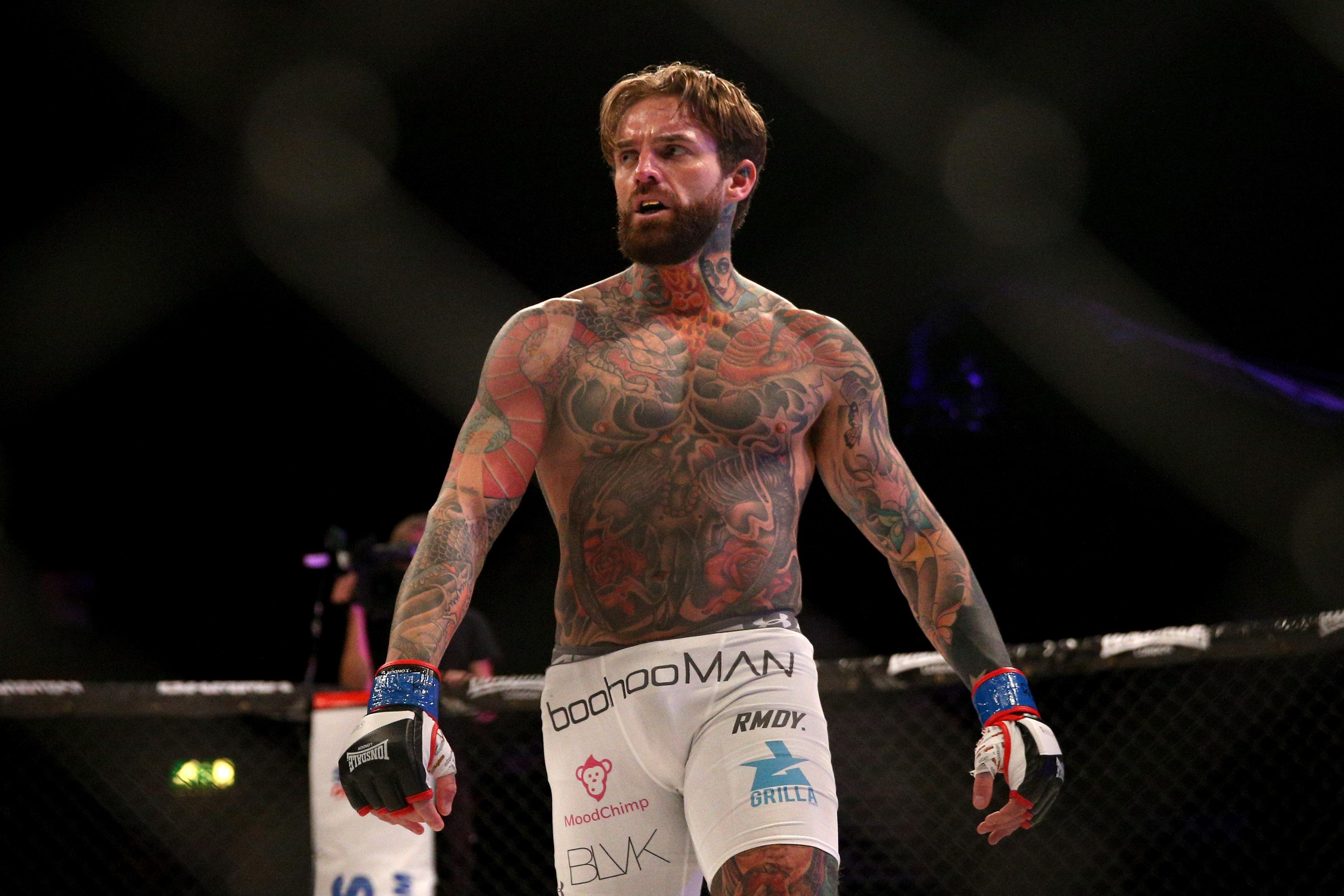 Aaron Chalmers has won all three of his pro MMA fights by knockout