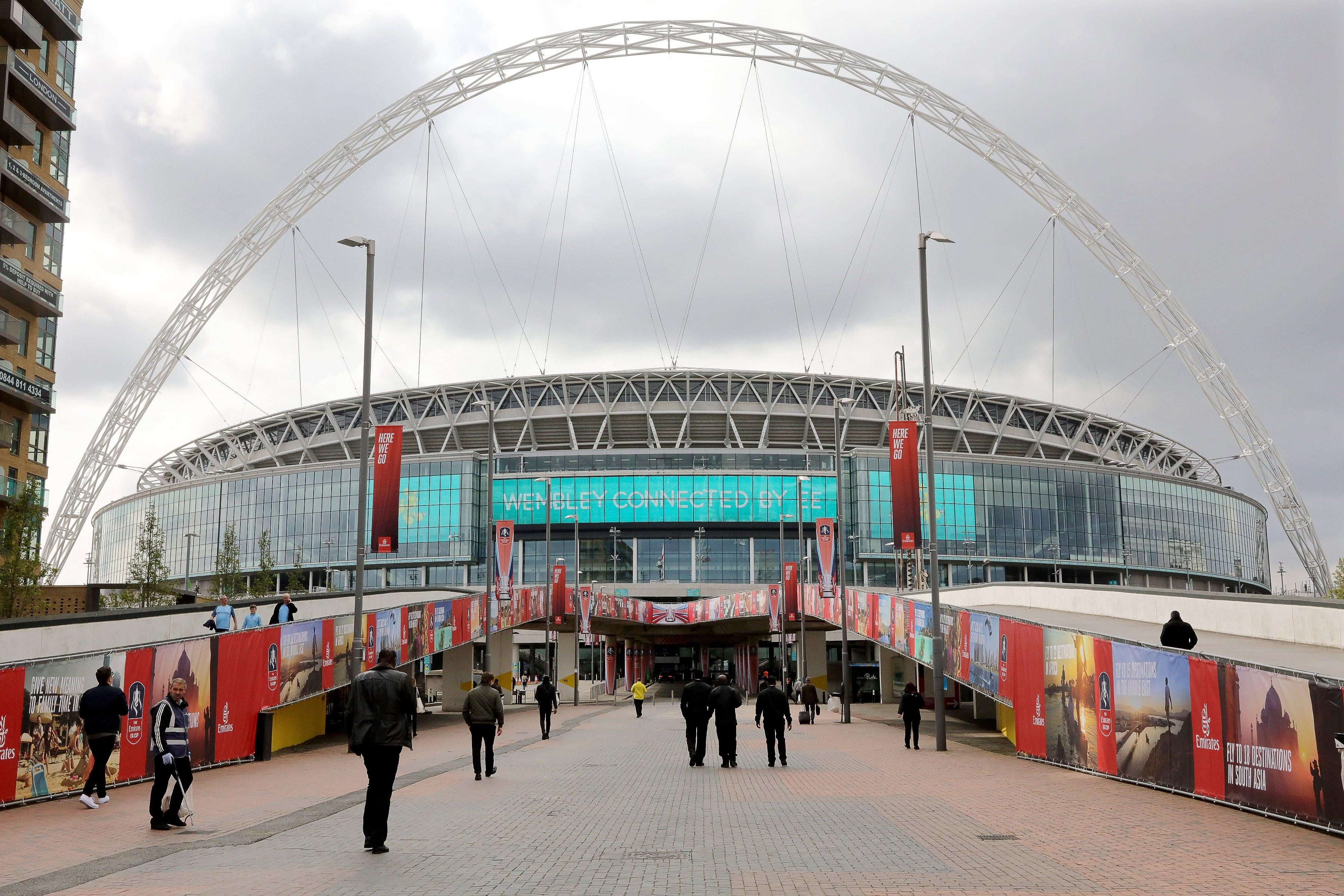 FA chiefs are set to sell the home of English football Wembley Stadium