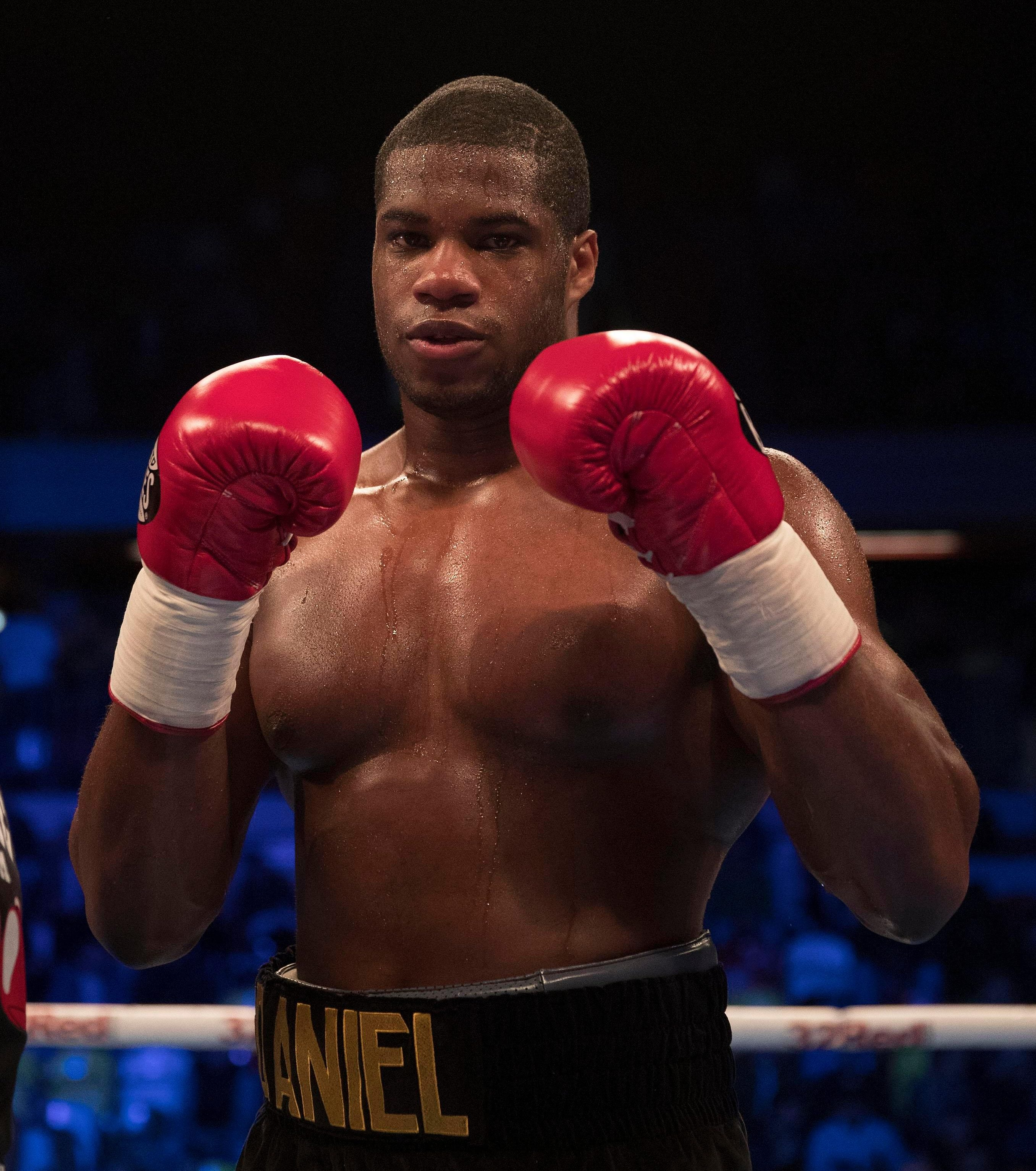 Daniel Dubois was rumoured to have floored Anthony Joshua in the gym