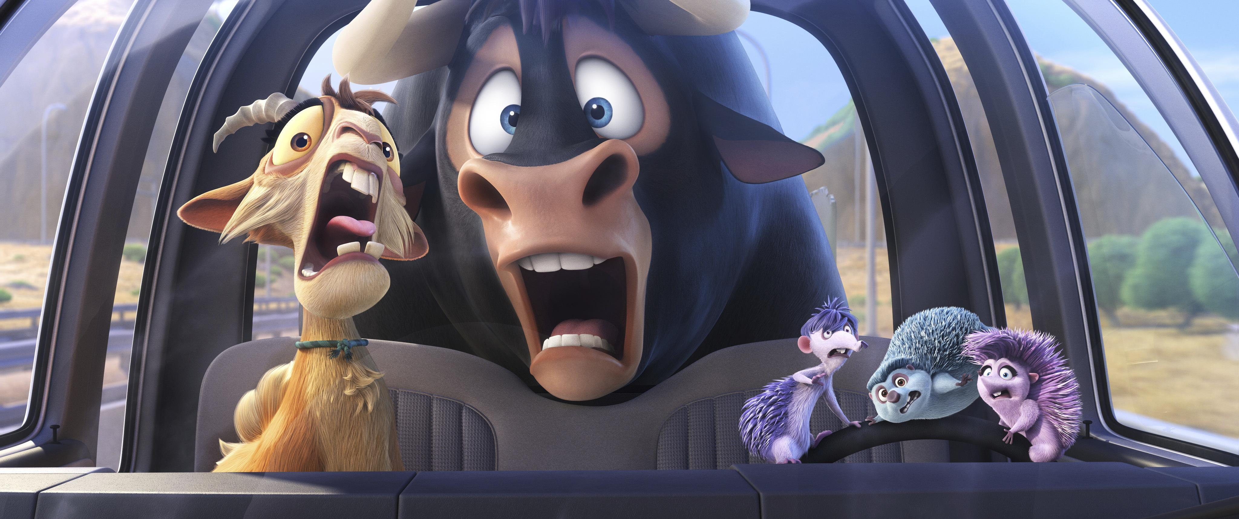 John Cena played the American version of Ferdinand but Rico Verhoeven was the Dutch voice