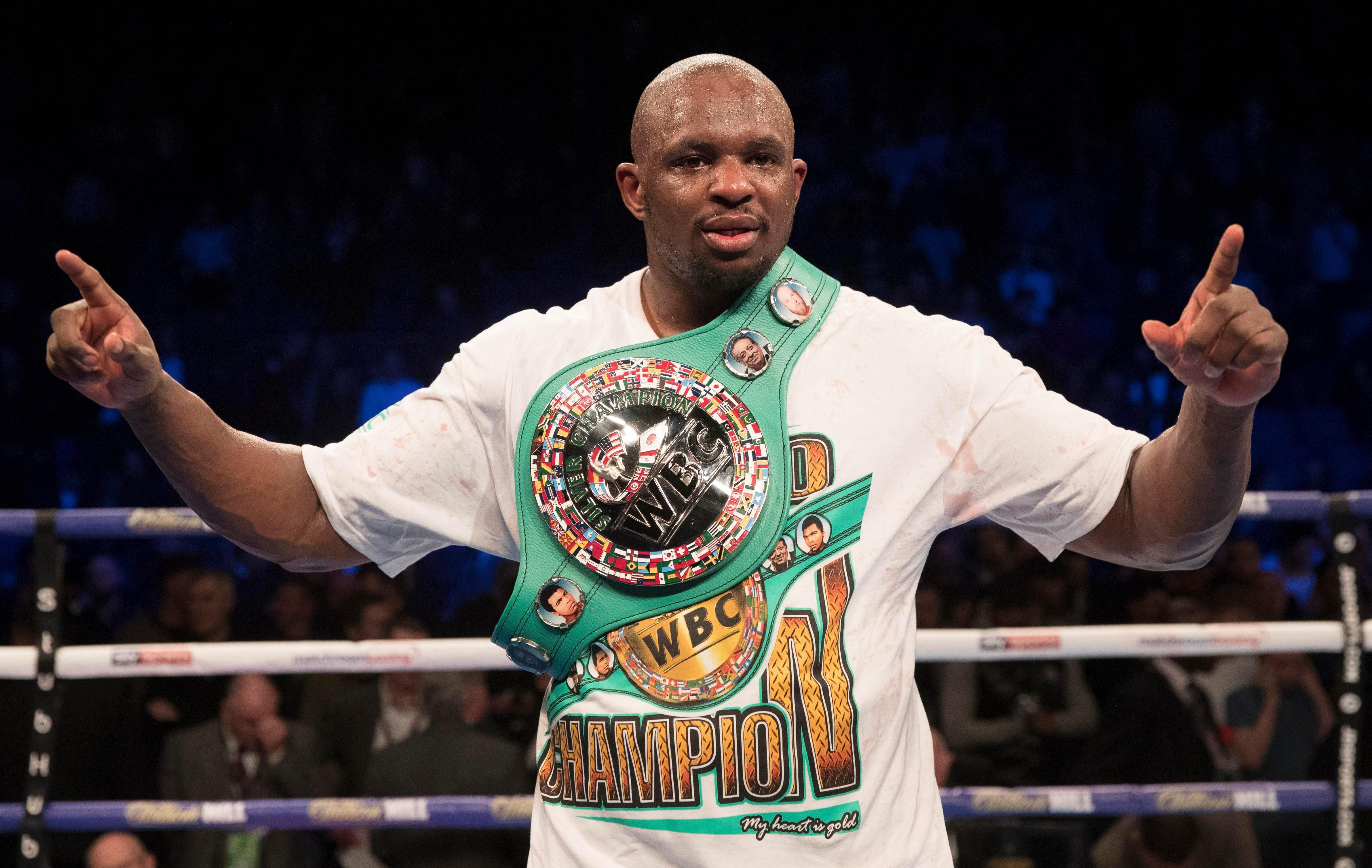 Dillian Whyte appears STILL to be one step off fighting Deontay Wilder for the WBC heavyweight title
