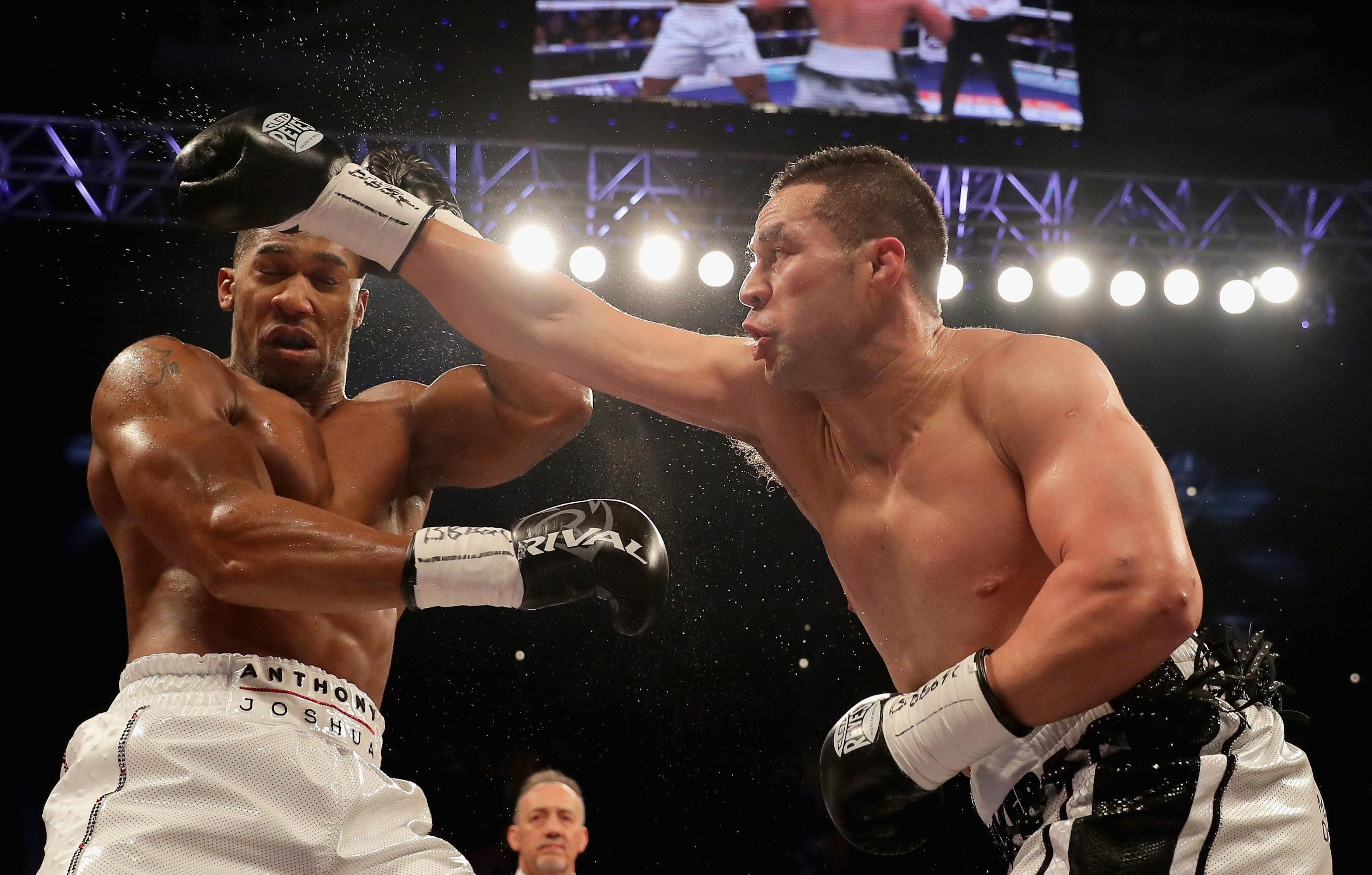 AJ saw off Joseph Parker on points in Cardiff