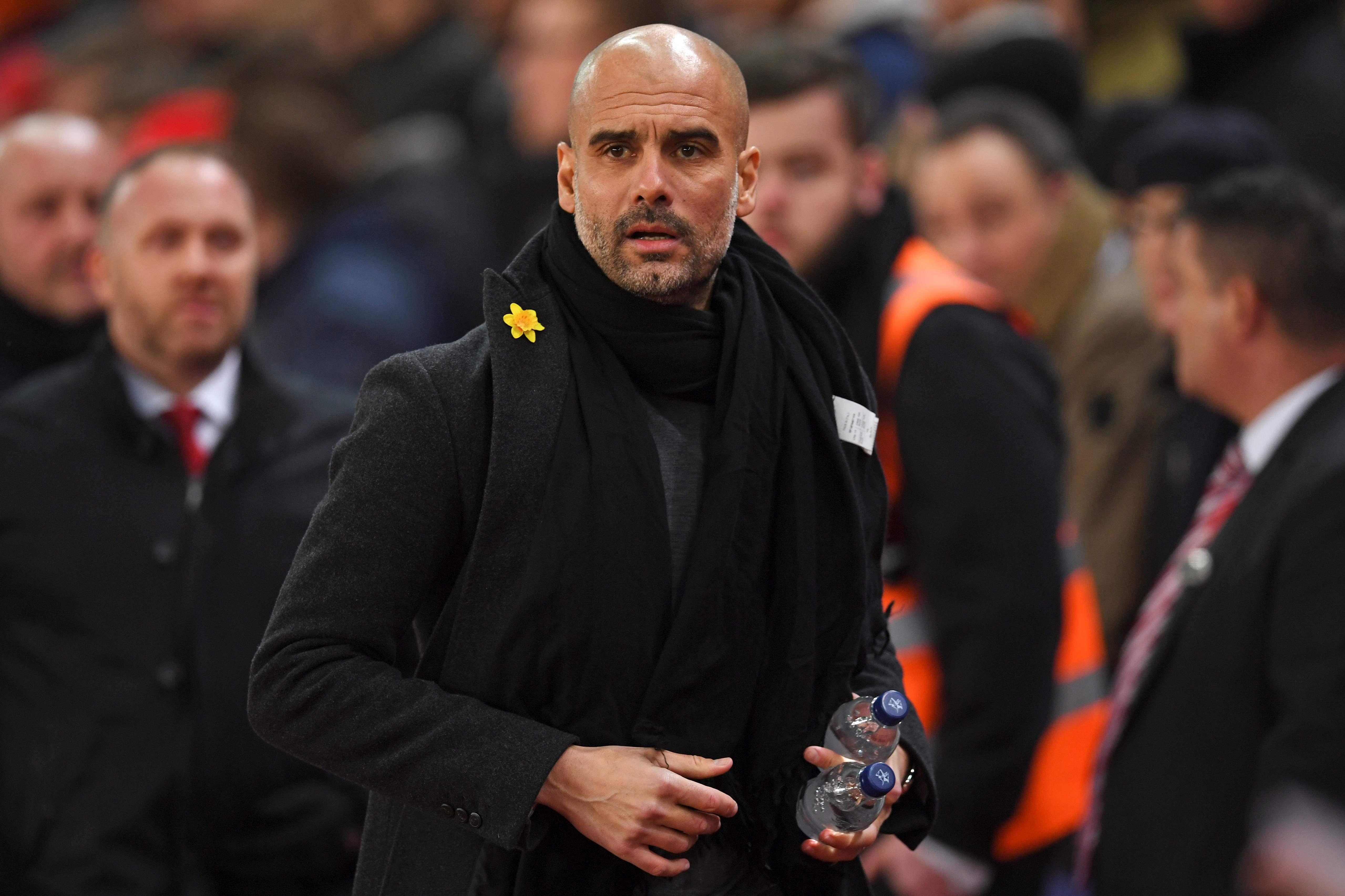 Pep Guardiola is set to rest a host of stars for Man City's game with United