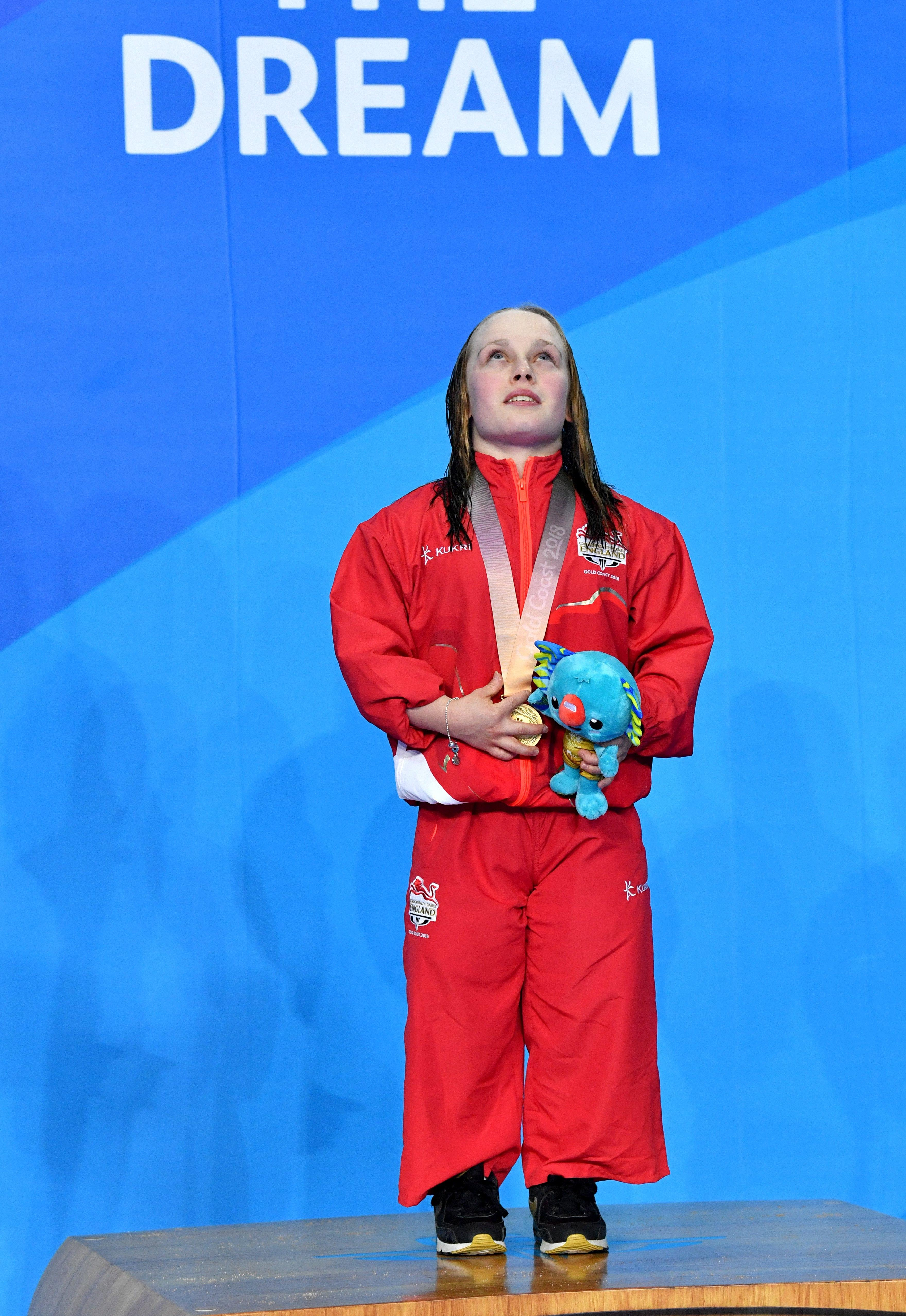 16-year-old Ellie Robinson won the gold medal in S7 50m butterfly