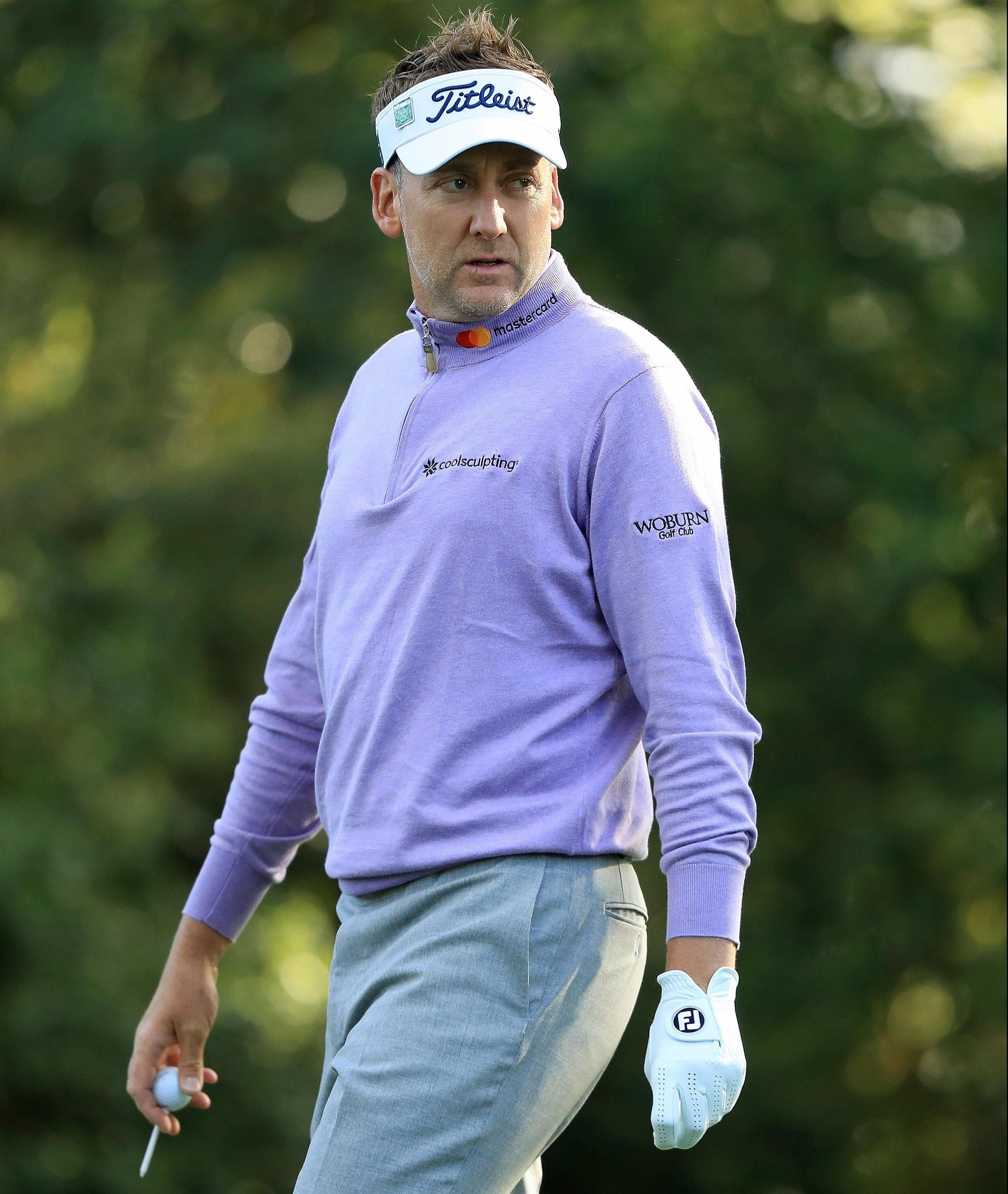 The Englishman sits at five over par after two rounds