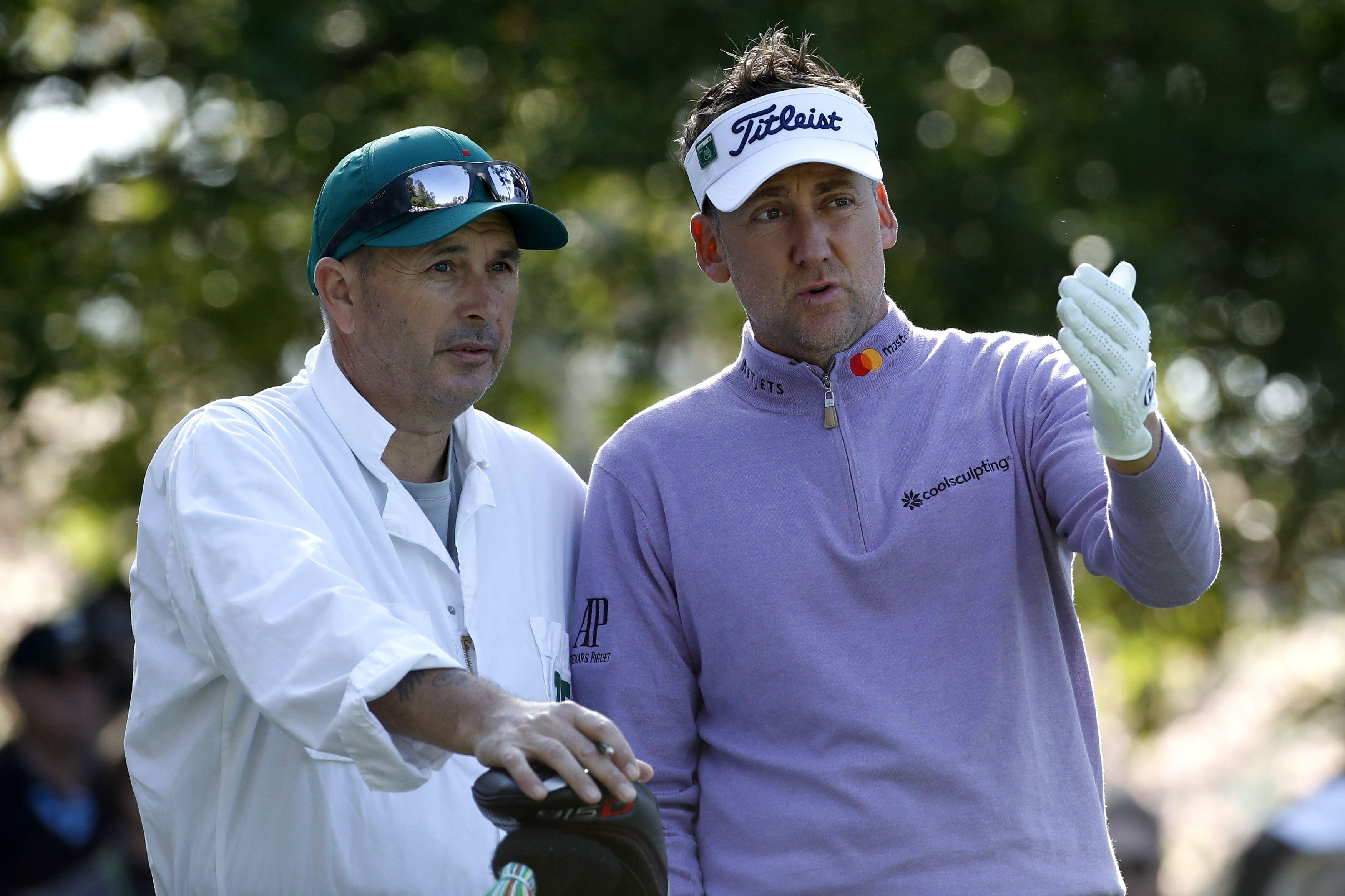 Ian Poulter was fuming at twice being put on the clock