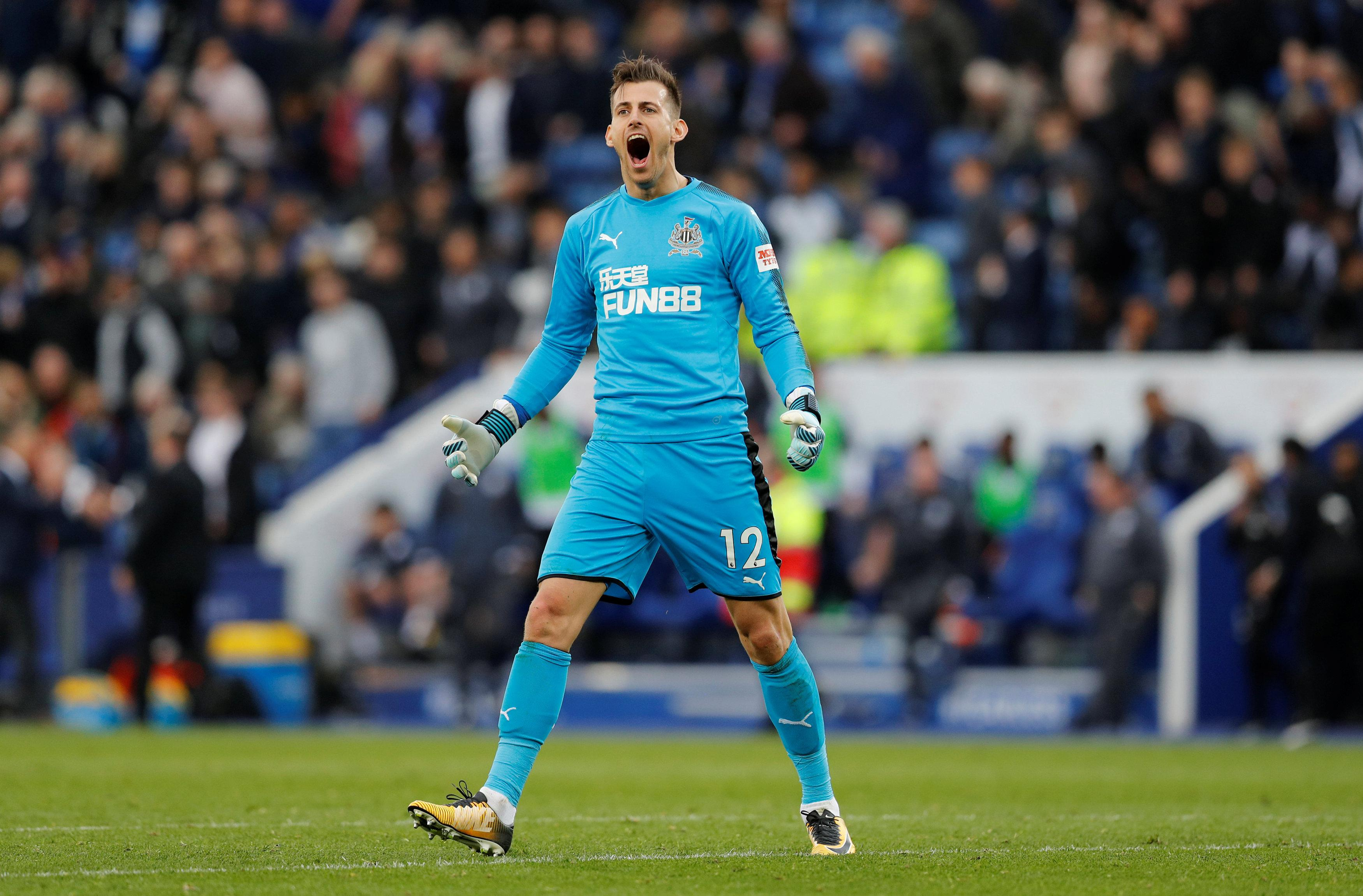 Martin Dubravka has been a revelation since joining Newcastle on loan in January