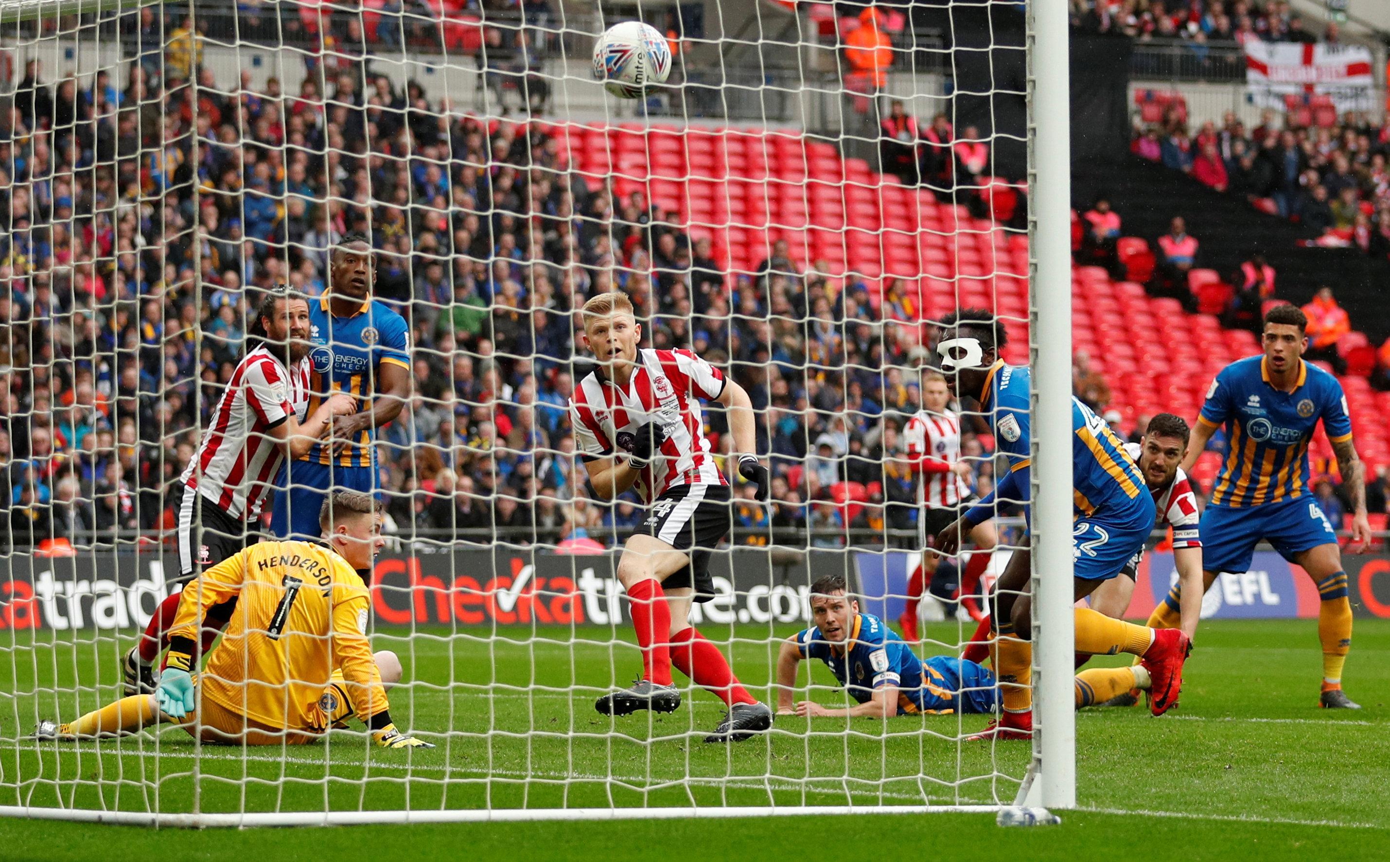 Elliott Whitehouse scored the winner in front of 41,000 at Wembley Stadium