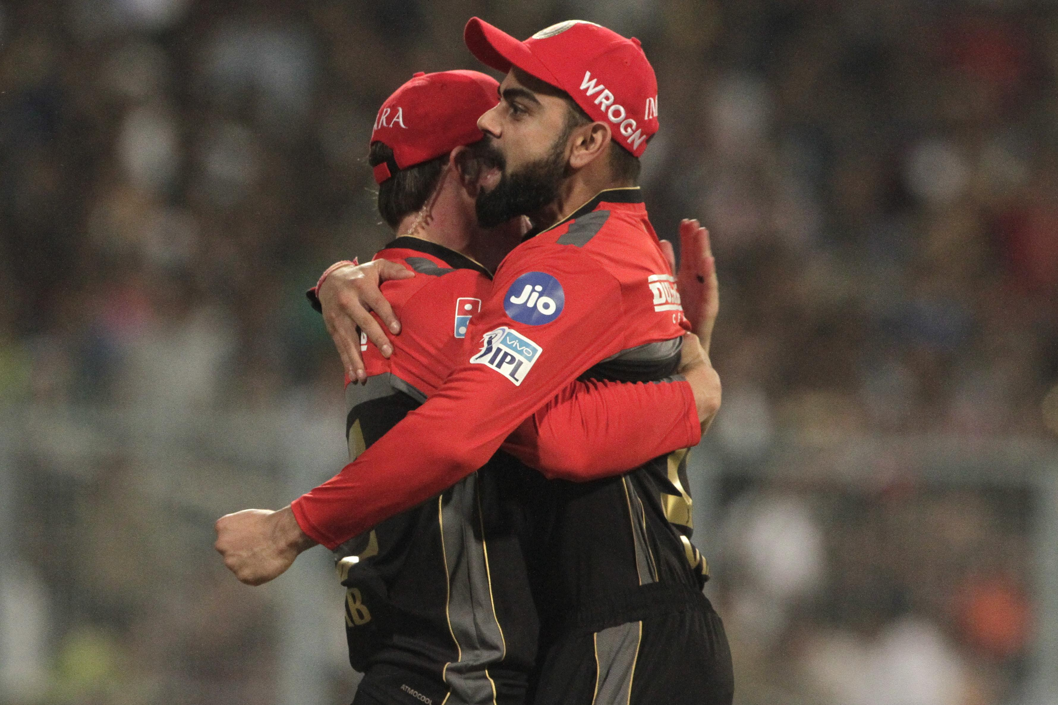 Virat Kohli and AB de Villiers are the two biggest stars on RCB's team