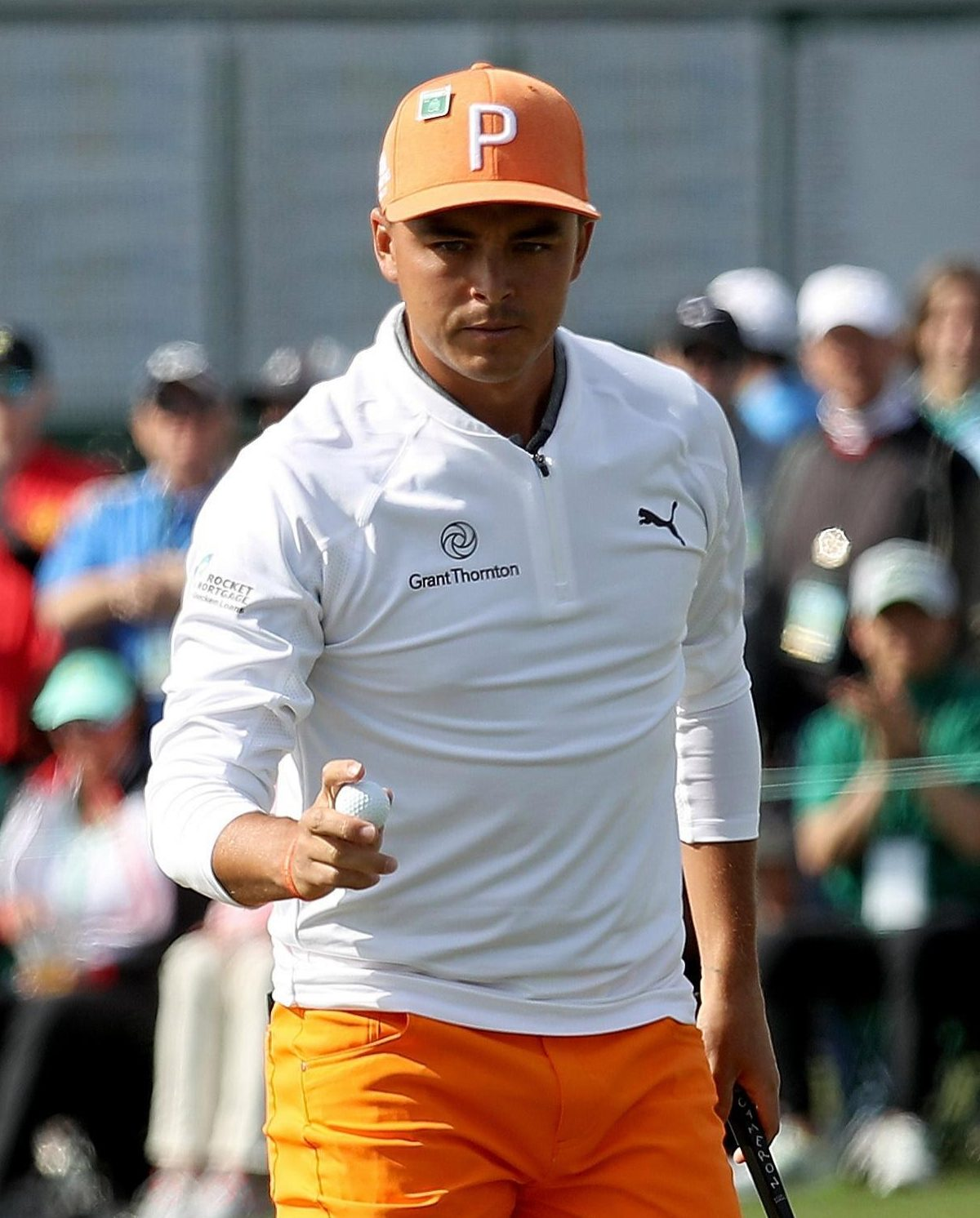 Rickie Fowler finished one shot shy of Patrick Reed