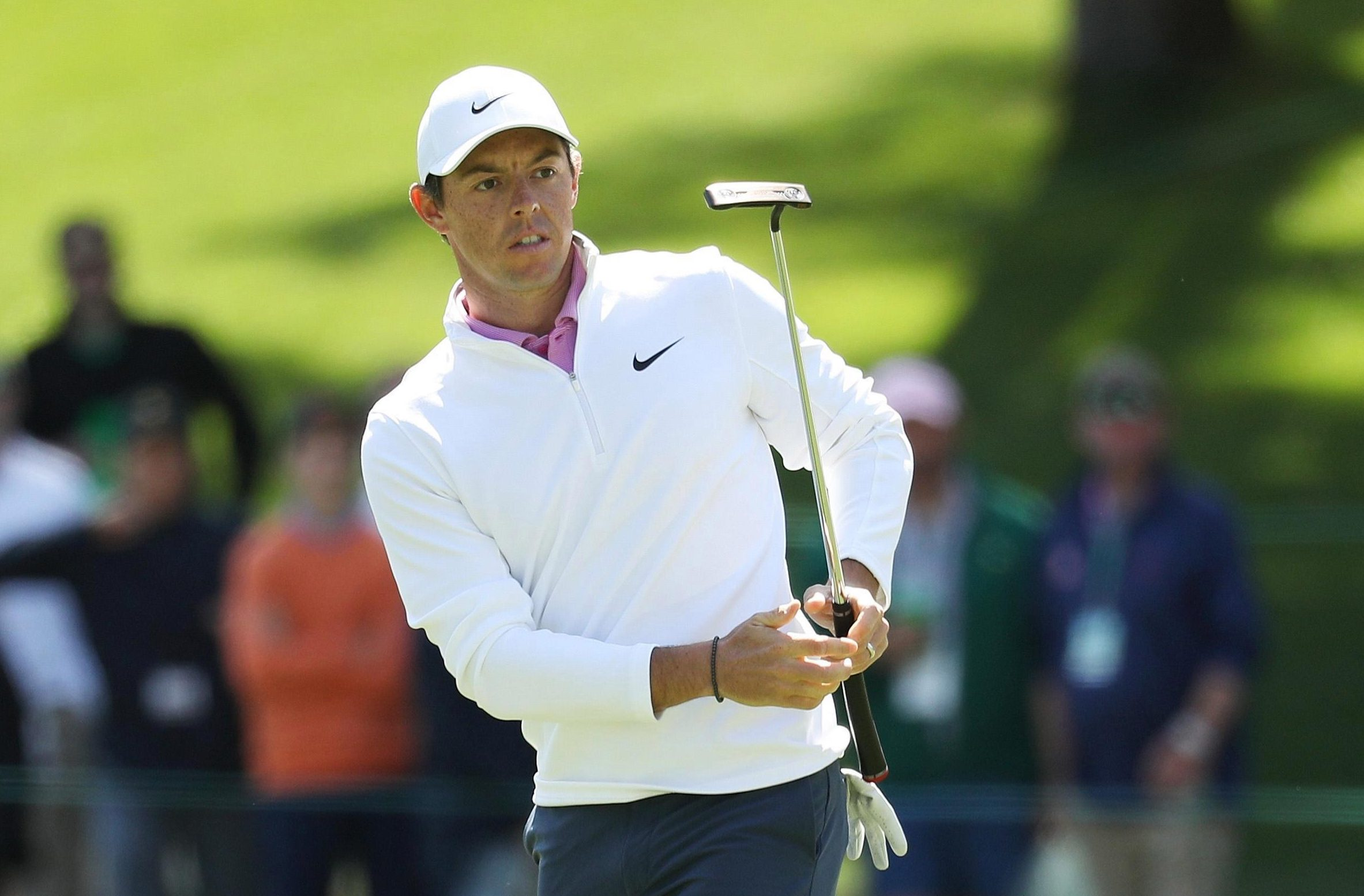 Rory McIlroy suffered more heartbreak on a Sunday at Augusta