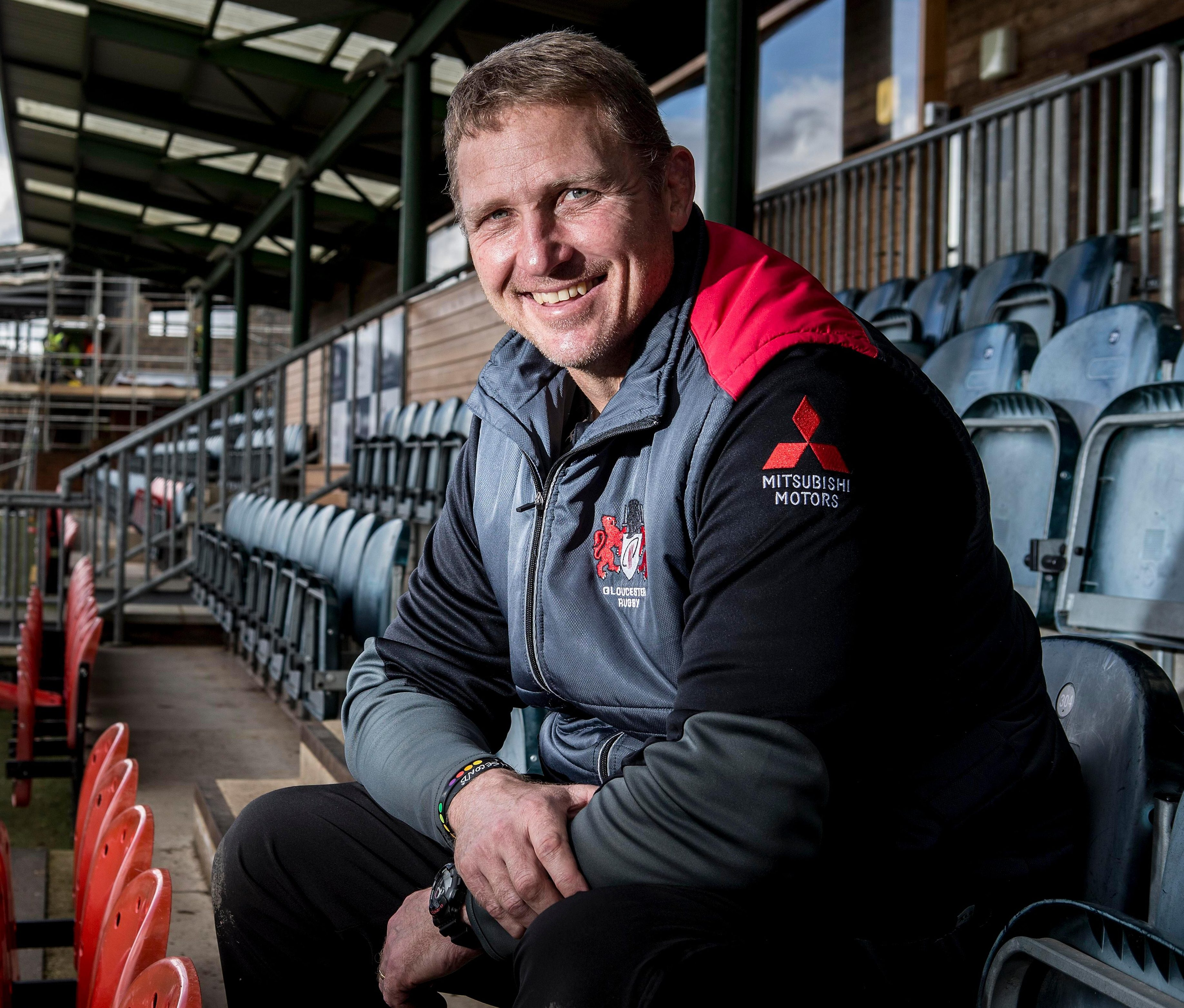 Johan Ackermann has had a difficult journey to the top, but is on the cusp of getting silverware with Gloucester
