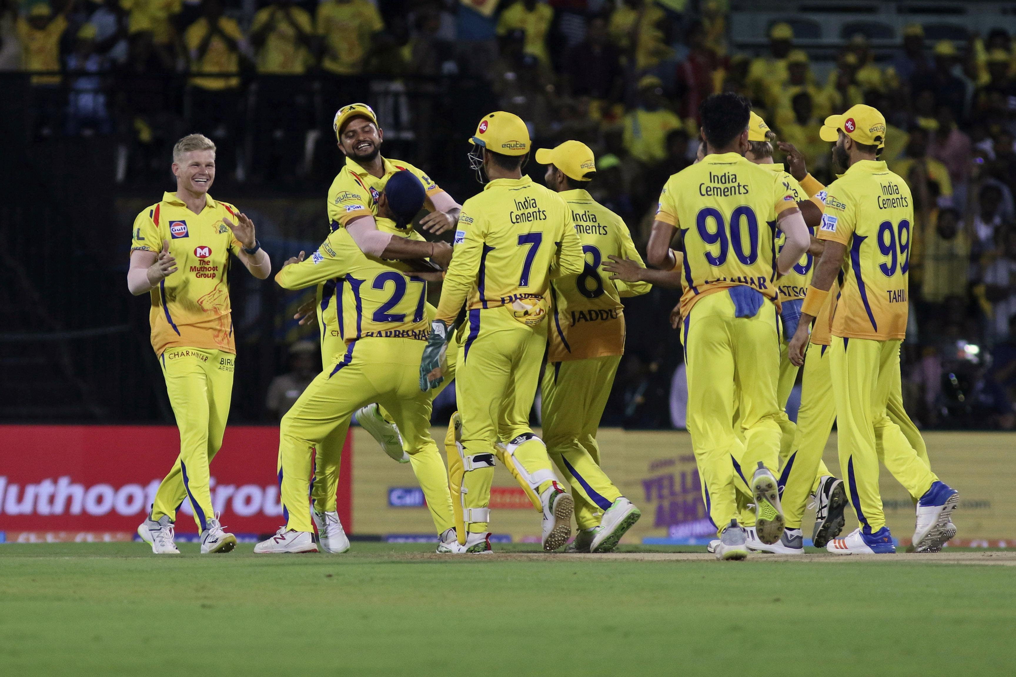 Chennai Super Kings take on Mumbai Indians as they look to secure their semi-final place