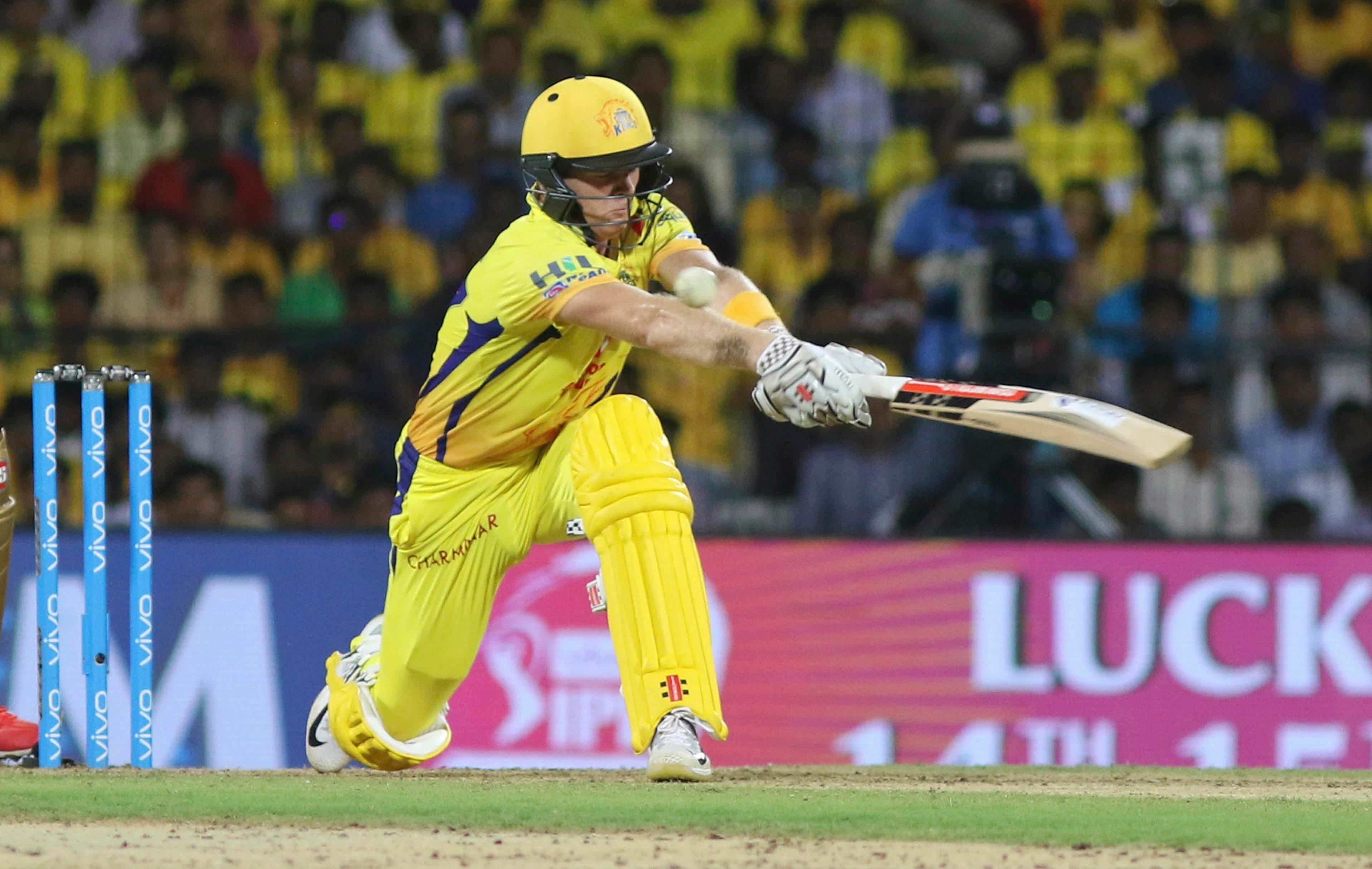 Sam Billings in action for Chennai Super Kings