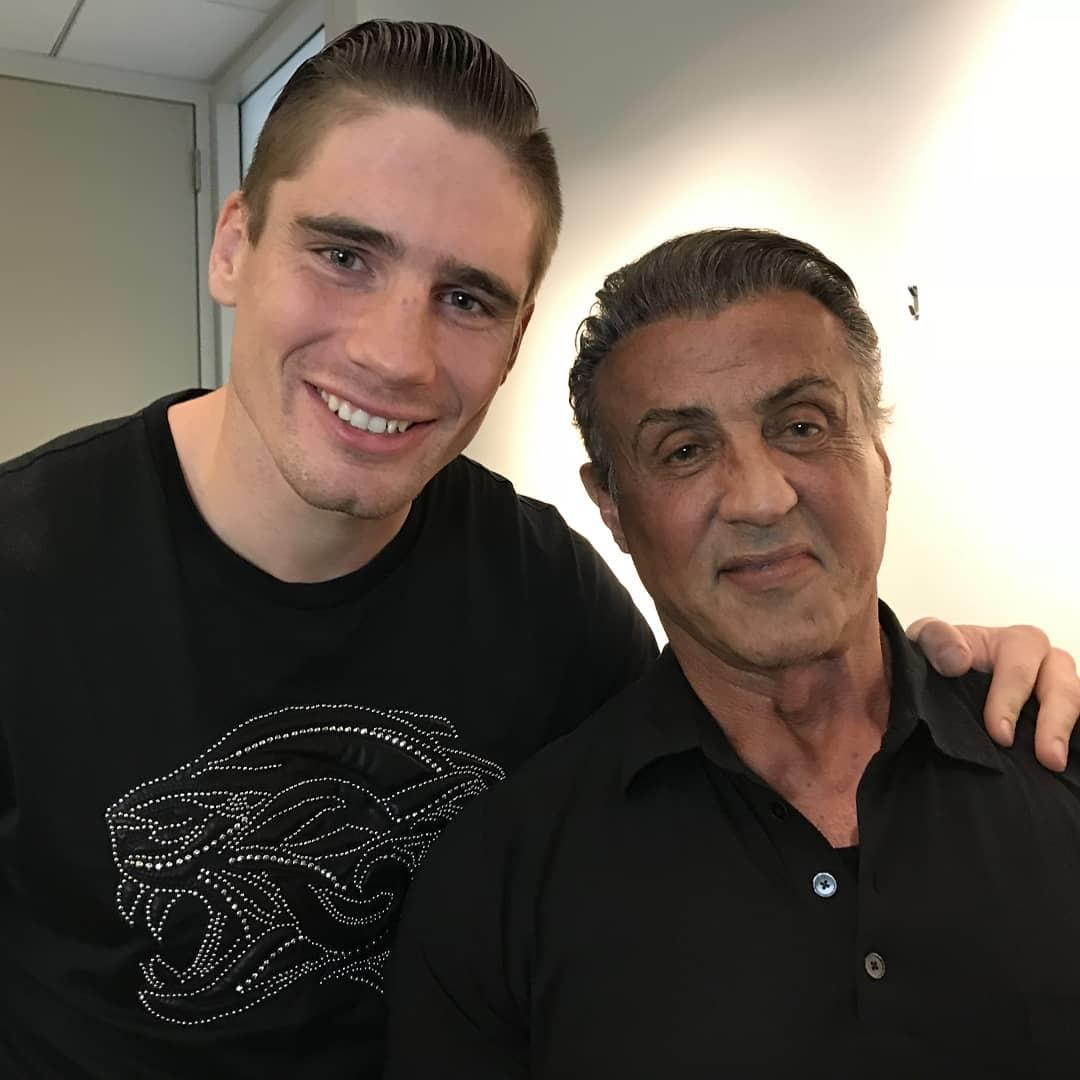 Rocky legend Sly Stallone is a big fan of Rico Verhoeven