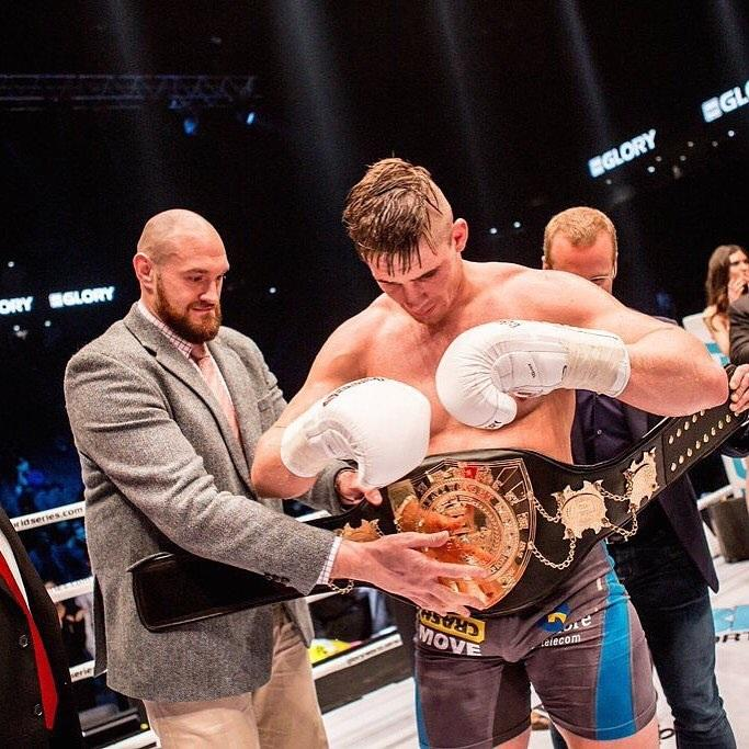 Tyson Fury used to beat Rico Verhoeven up in sparring but they are firm friends now