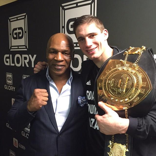 Mike Tyson tunes in to Rico Verhoeven fights