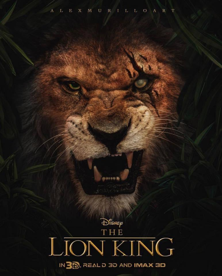 A live action version of the Lion King will be released next year