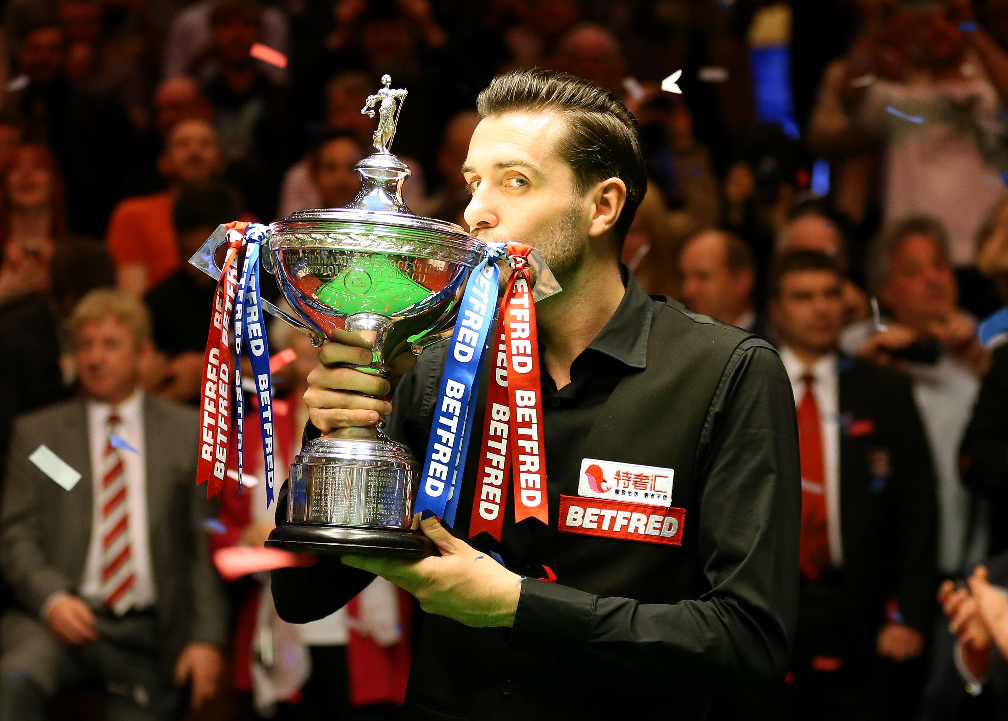 Mark Selby has won the past two Snooker World Championships and is out to retain the title