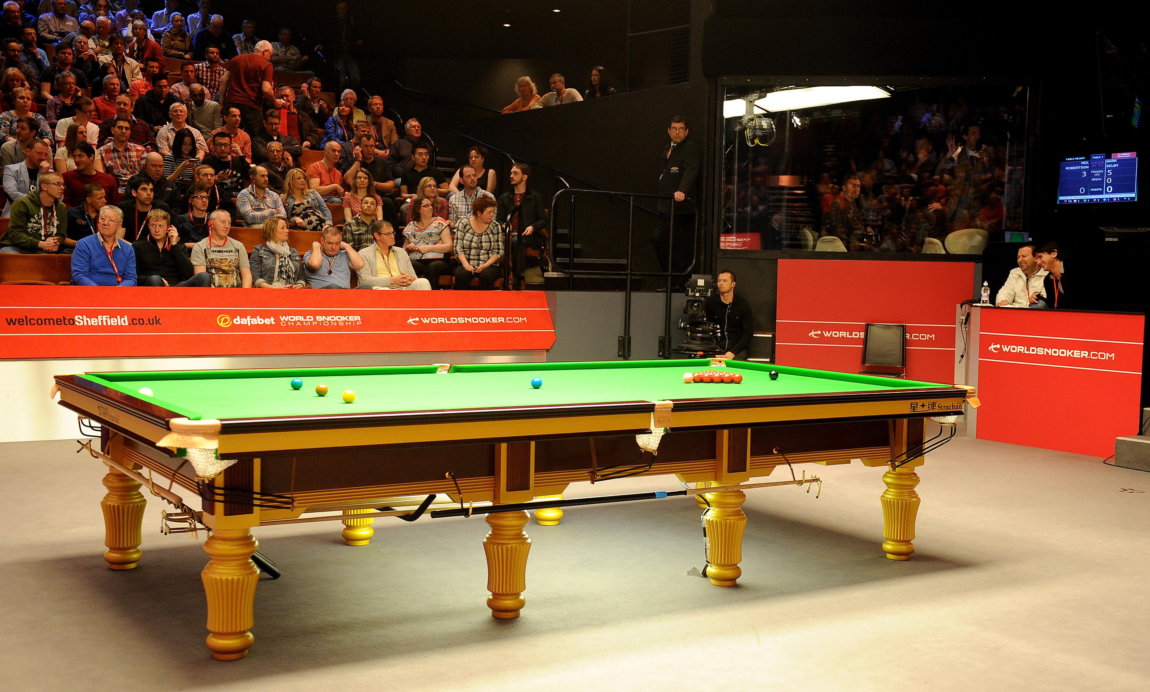 The Crucible in Sheffield will once again play host to the competition