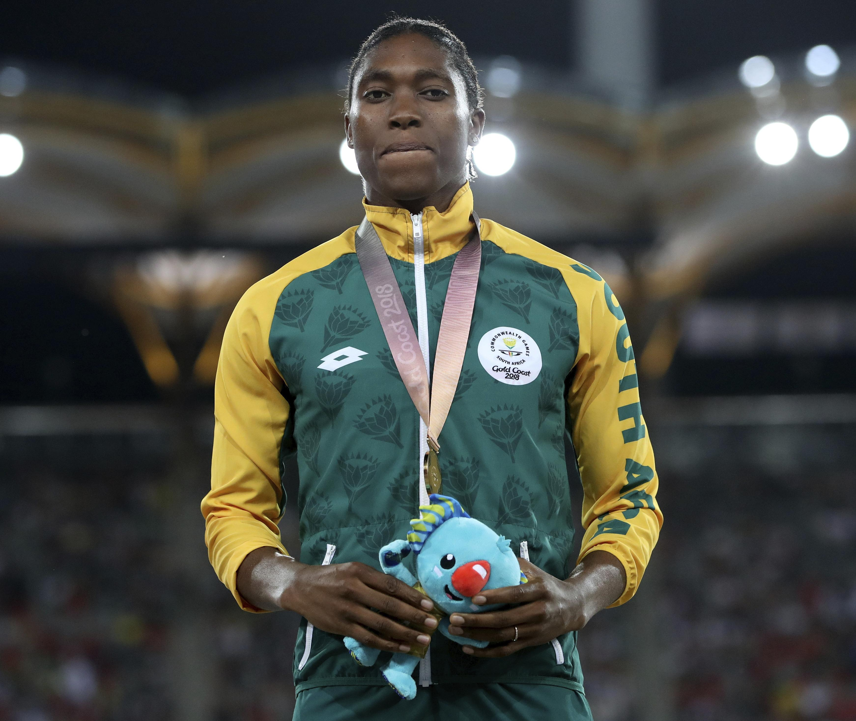 Caster Semenya will need to reduce her testosterone levels to compete as a female