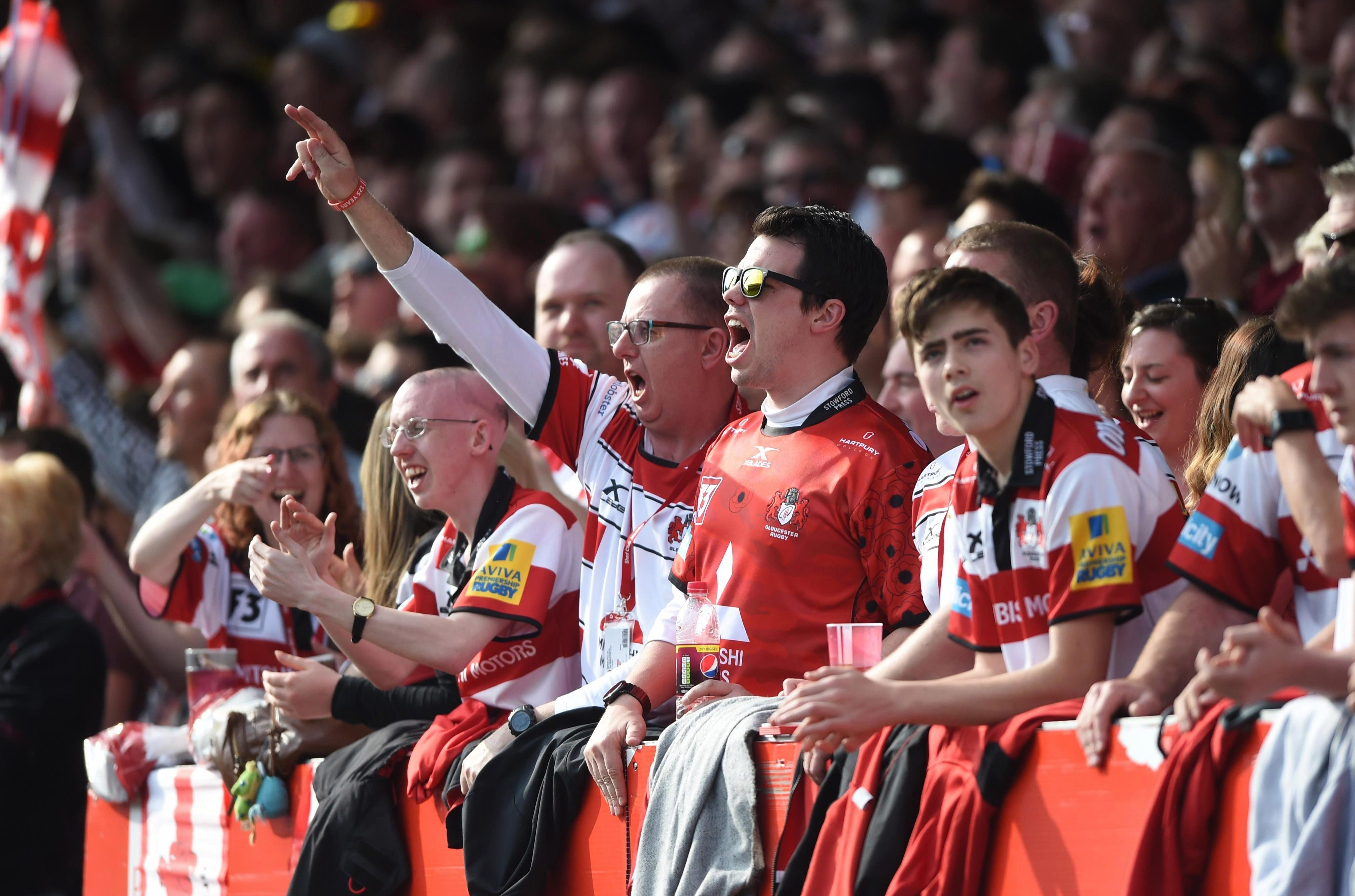 Gloucester fans will be delighted to see their team challenging on European and domestic fronts this season