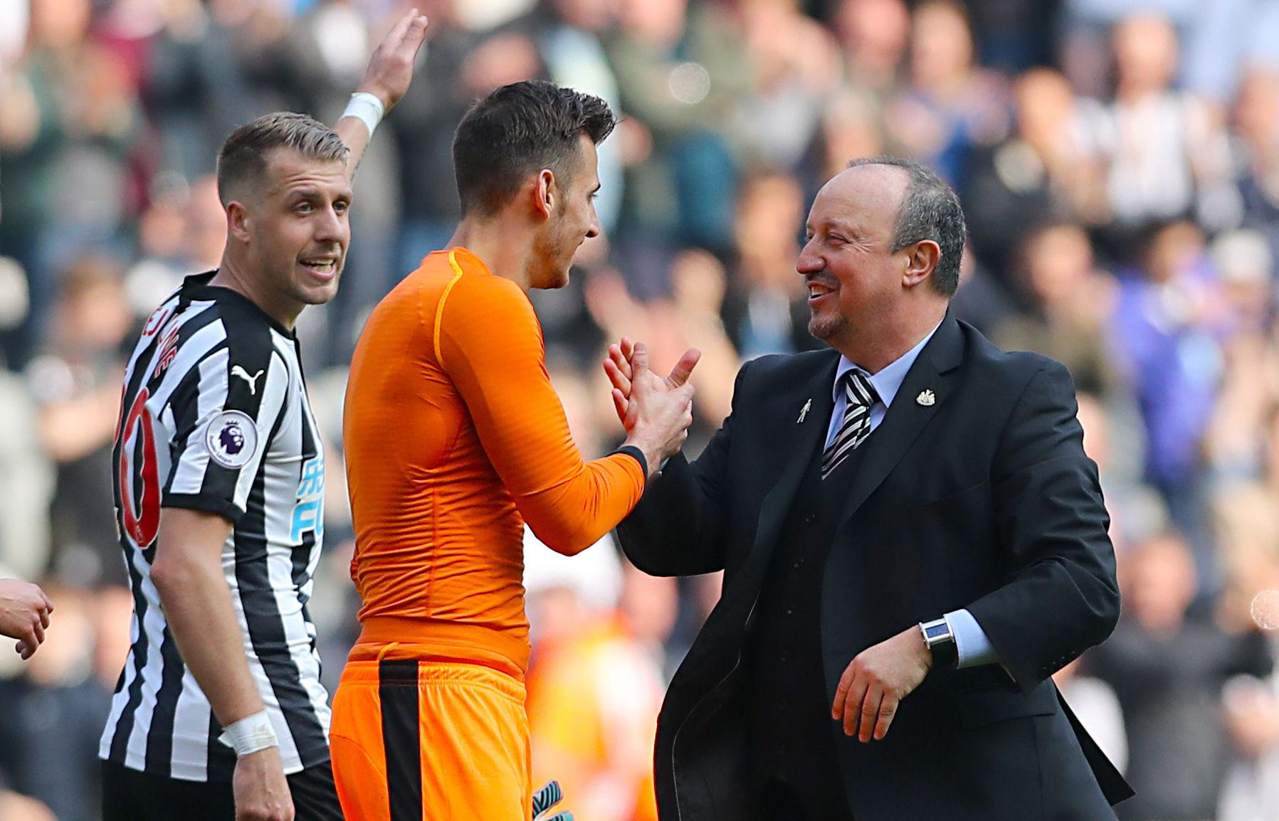 Rafael Benitez will be desperate to get a permanent deal over the line for Martin Dubravka