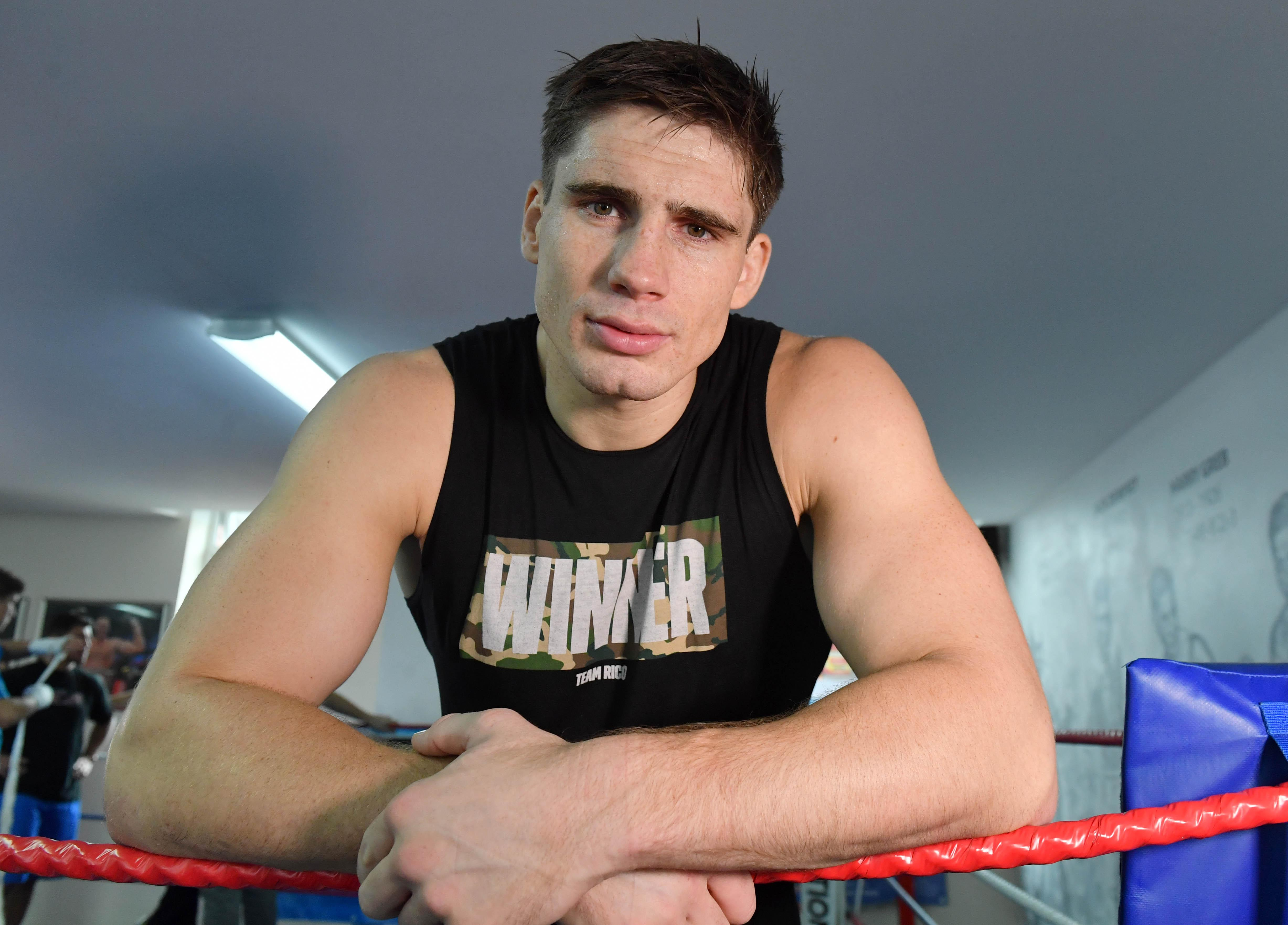 Rico Verhoeven is a champion kickboxer, a film star and a dedicated daddy