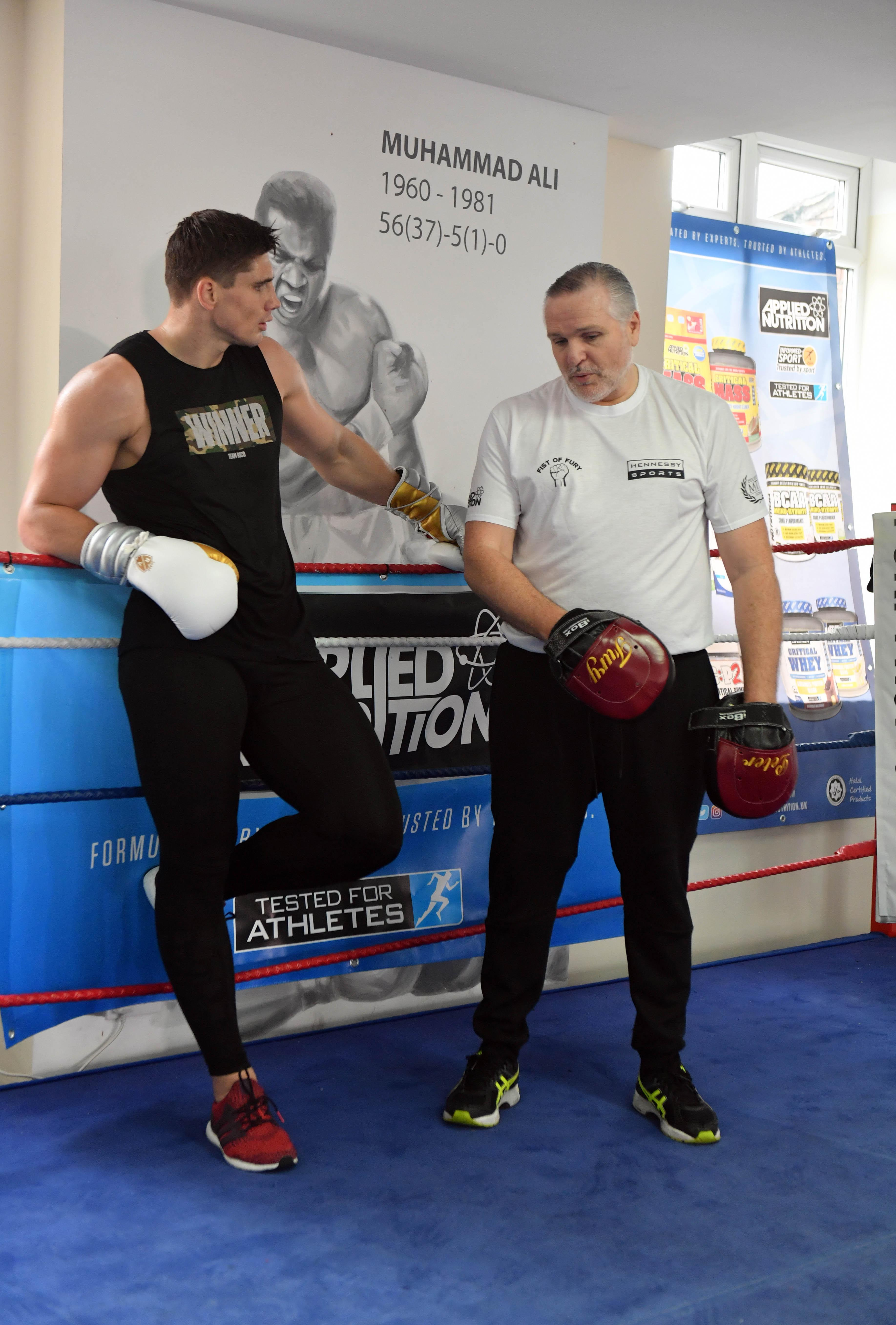 Peter Fury trained nephew Tyson to heavyweight world title glory and Rico sparred with the giant