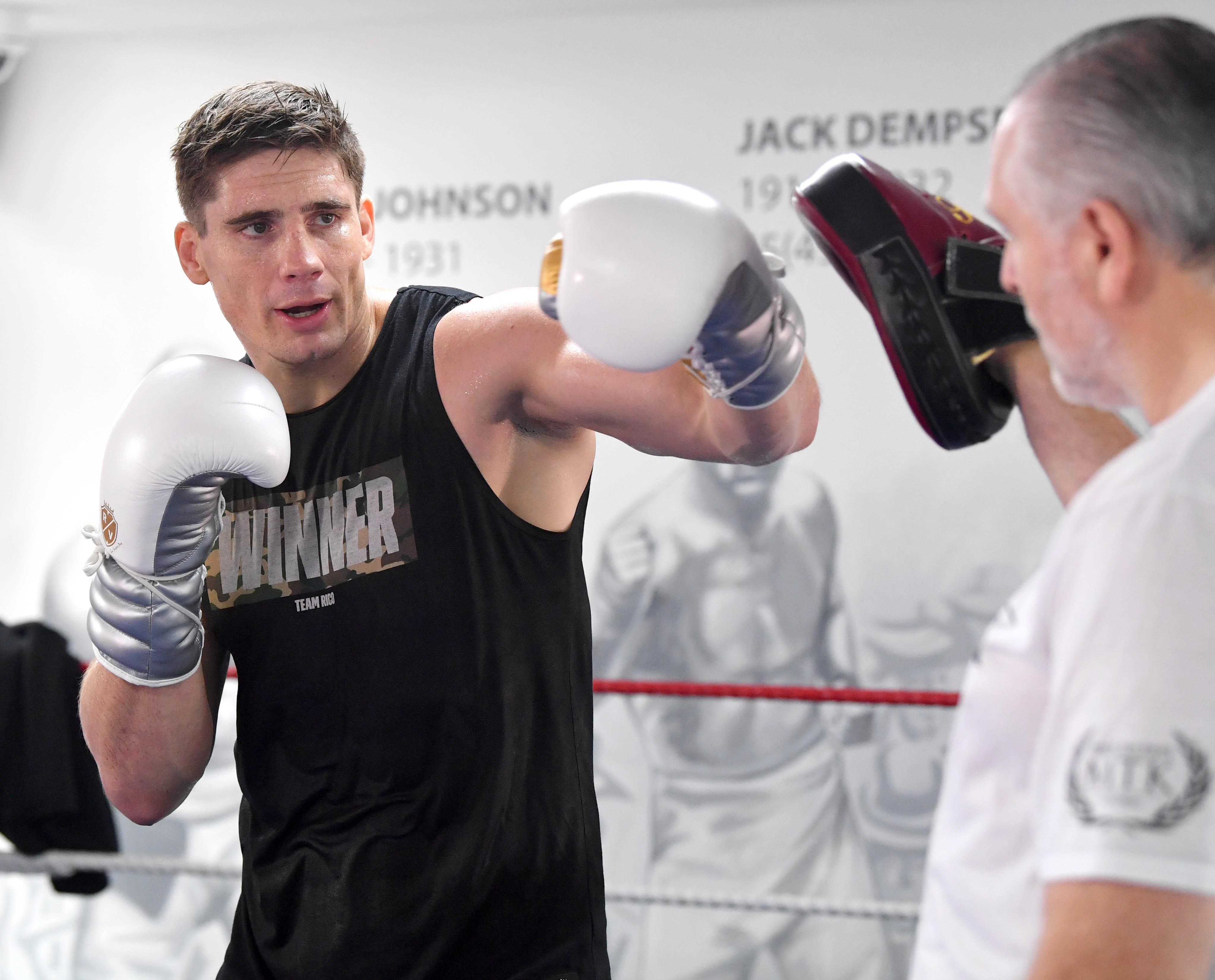 Rico Verhoeven is a student of boxing and and is soaking up Peter Fury's knowledge