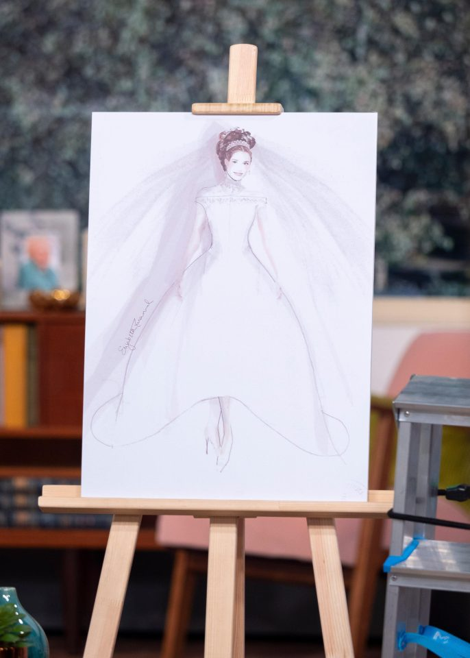 The wedding dress for Diana was £ 9,000