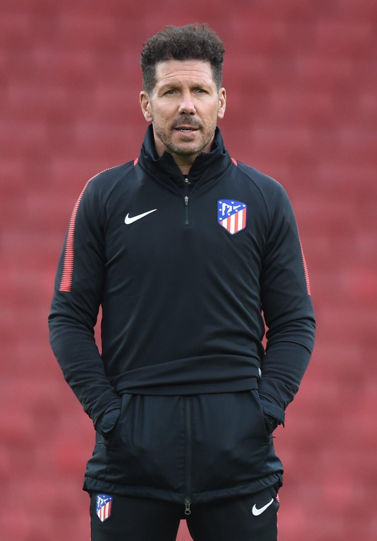 Diego Simeone has revealed he has not spoken with anyone at Arsenal about replacing Arsene Wenger