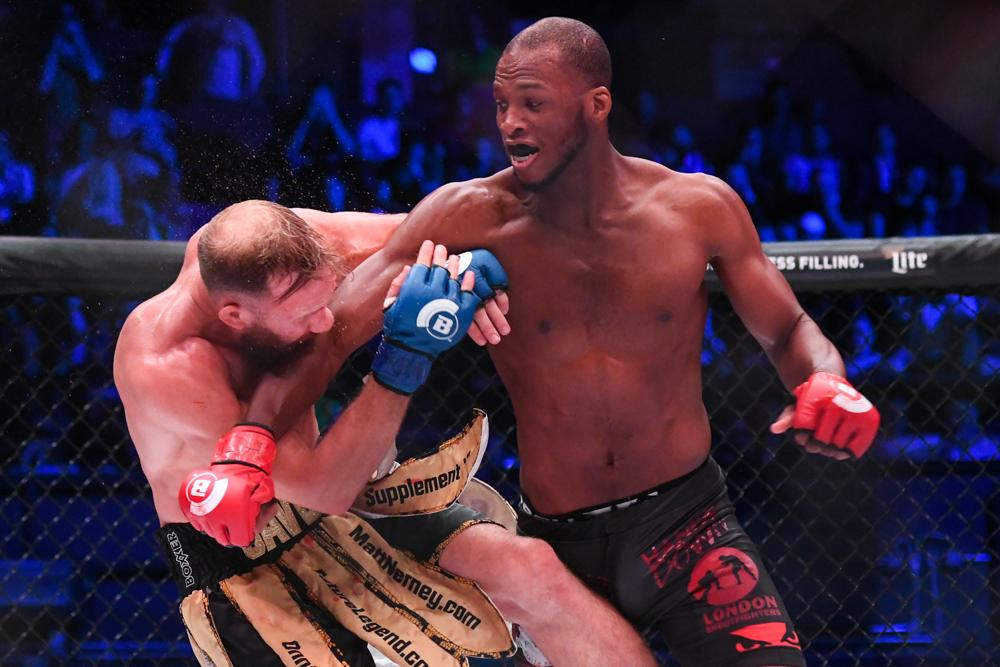 Michael Page was streets above David Rickels in their Bellator 200 bout
