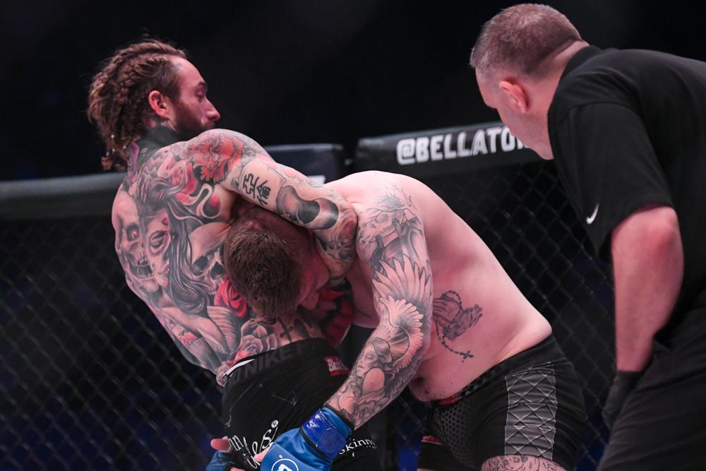 Aaron Chalmers took on Ash Griffiths